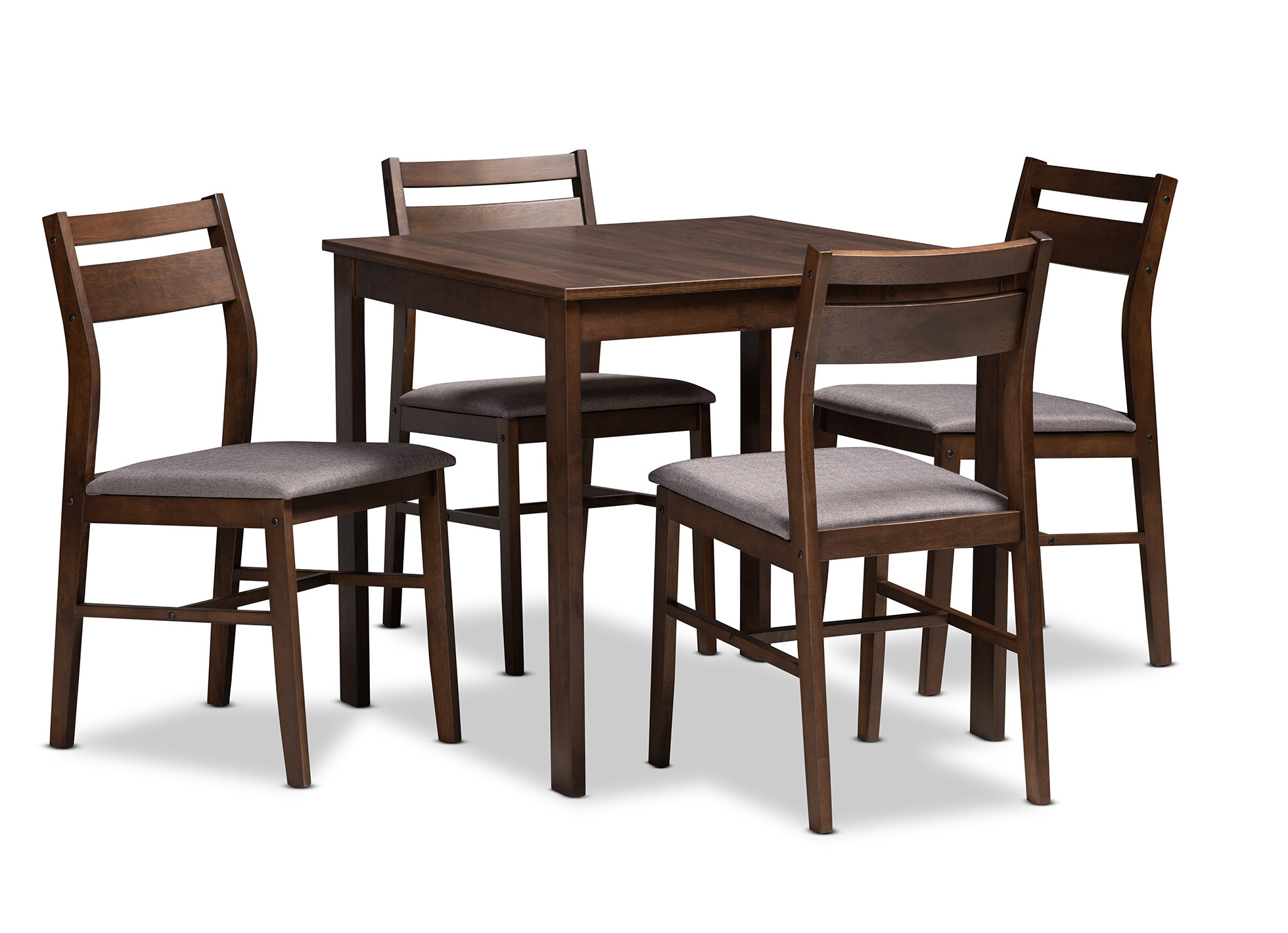 Raphael Modern And Contemporary Upholstered 5 Piece Dining Set With Widely Used Tejeda 5 Piece Dining Sets (Gallery 19 of 20)