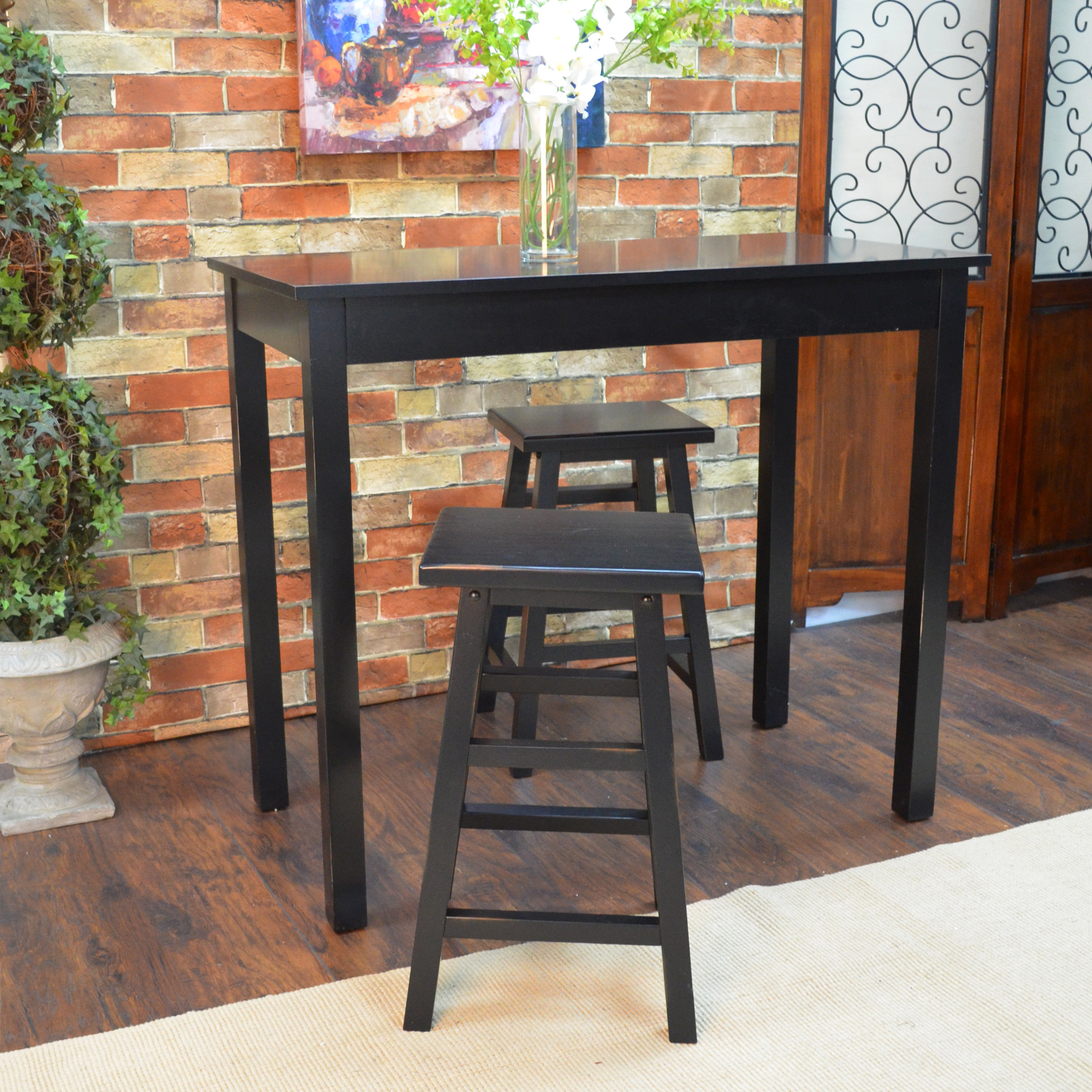 Recent Beachcrest Home Waquoit 3 Piece Pub Table Set With Regard To Berrios 3 Piece Counter Height Dining Sets (View 16 of 20)