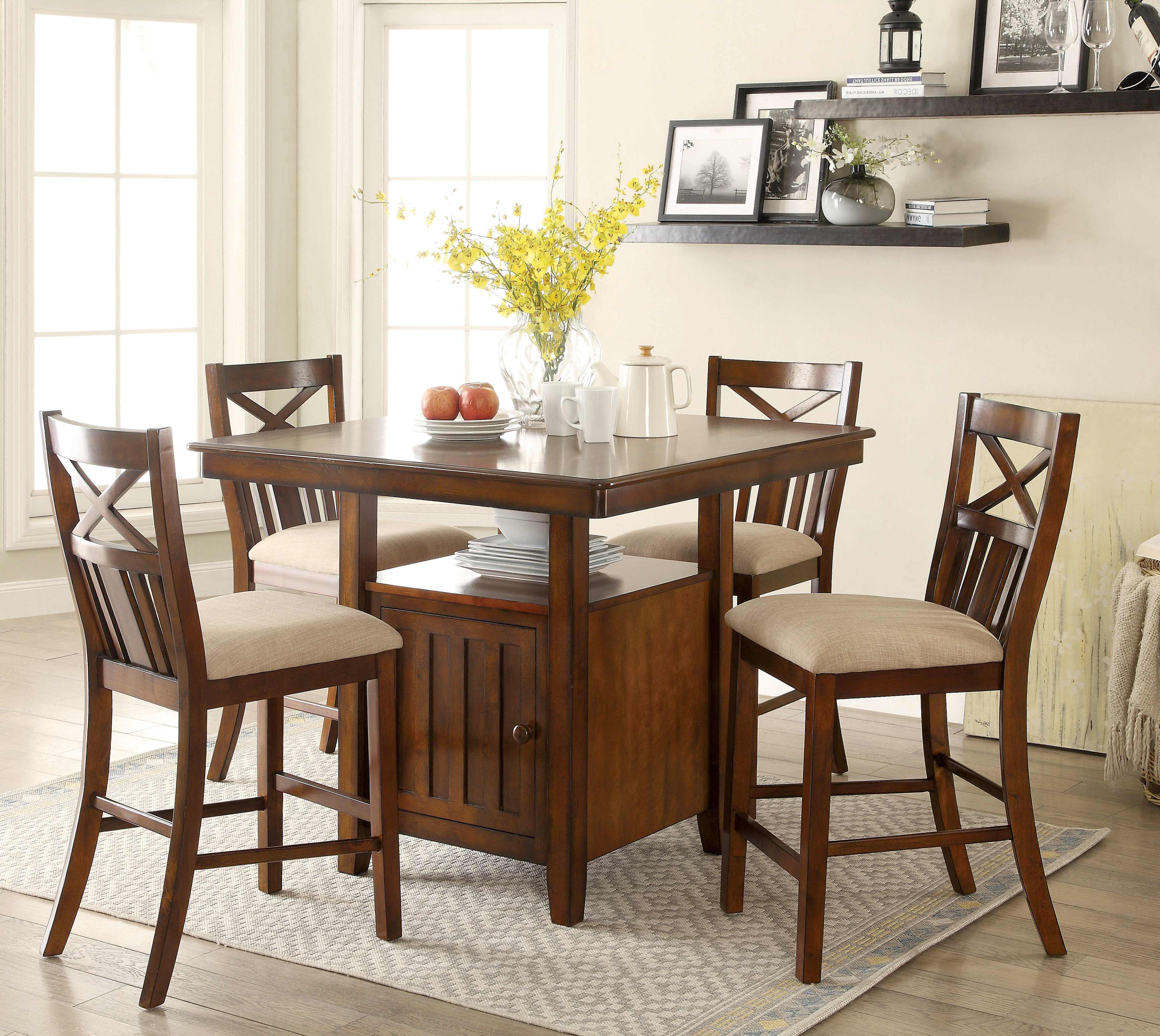 Recent Bryson 5 Piece Dining Sets With Regard To Bryson 5 Piece Dining Set (View 3 of 20)