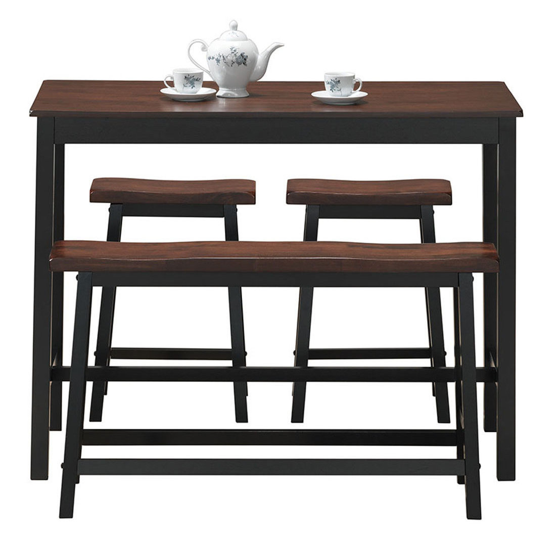 Recent Castillo 4 Piece Breakfast Nook Dining Set With Regard To Kerley 4 Piece Dining Sets (View 19 of 20)
