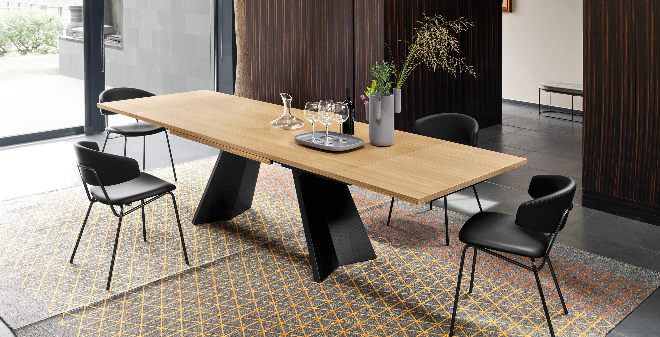 Recent Home Furniture: Italian Design Furnishingcalligaris – Calligaris Intended For Cincinnati 3 Piece Dining Sets (View 17 of 20)