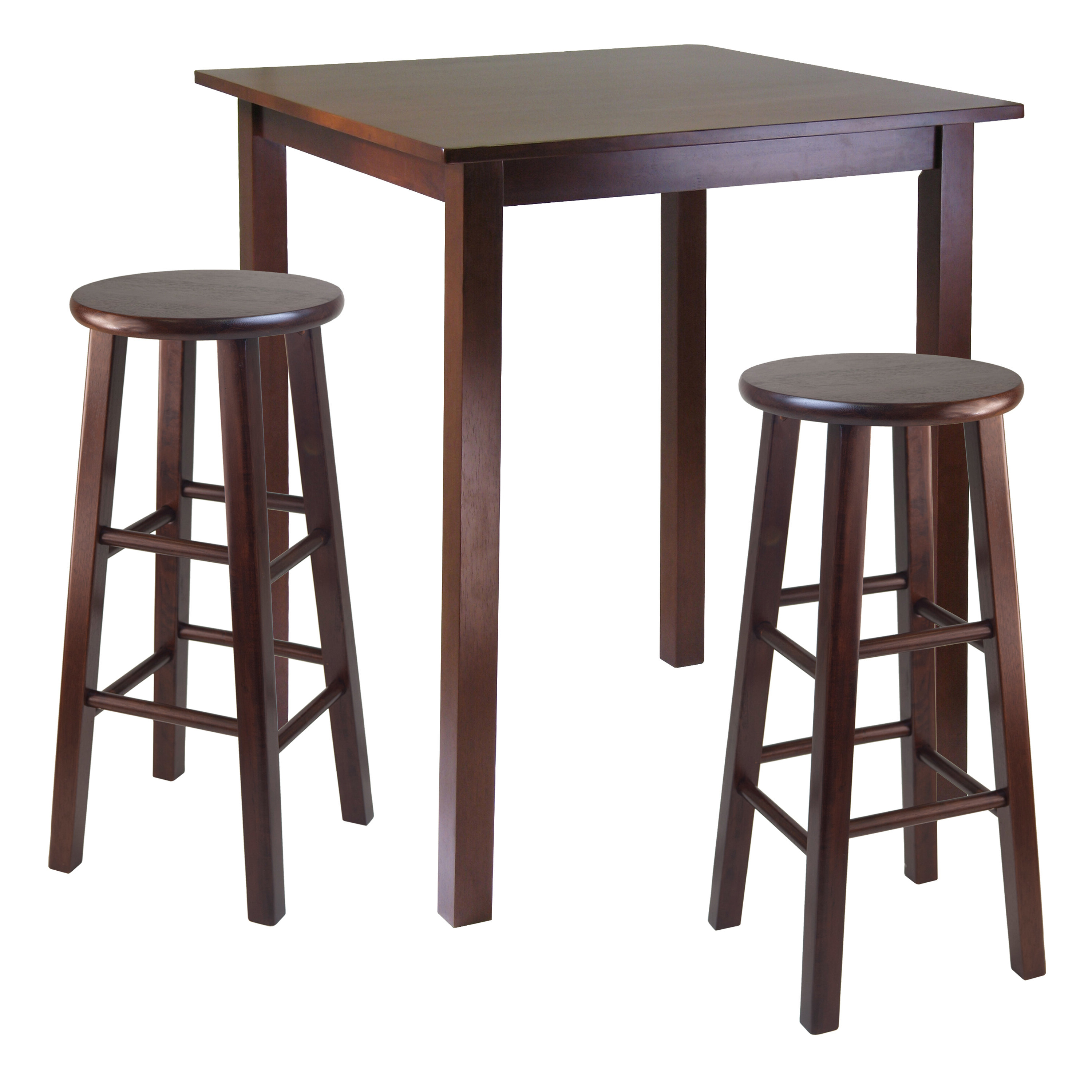 Recent Tenney 3 Piece Counter Height Dining Sets With Auburn Road 3 Piece Counter Height Pub Table Set (Gallery 7 of 20)