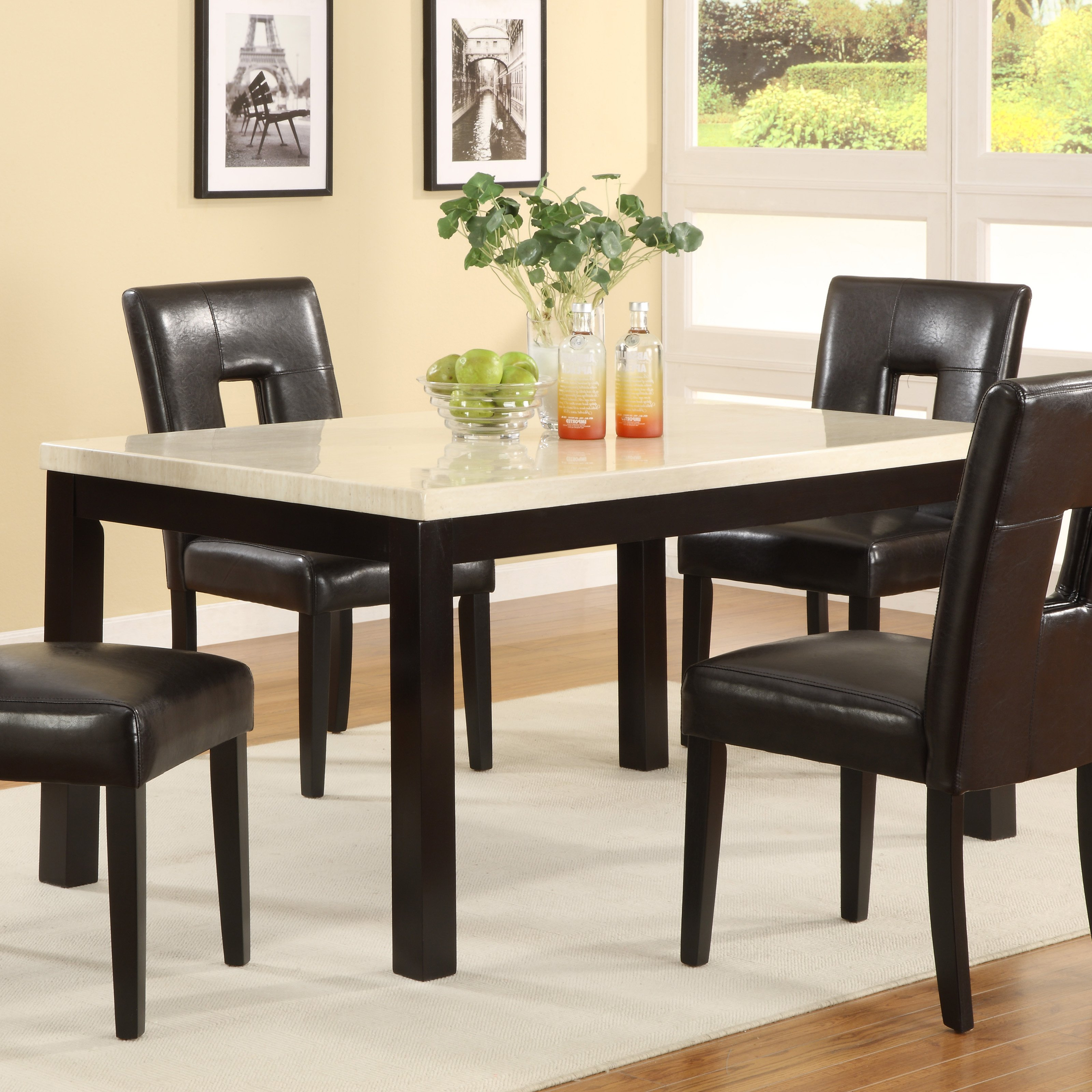 Rossiter 3 Piece Dining Sets Pertaining To Recent Metropolitan 3 Piece Dining Set, Multiple Finishes (Gallery 19 of 20)