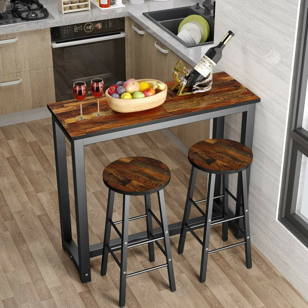 Saintcroix 3 Piece Dining Sets Within Favorite Wallflower 3 Piece Dining Set (View 4 of 20)