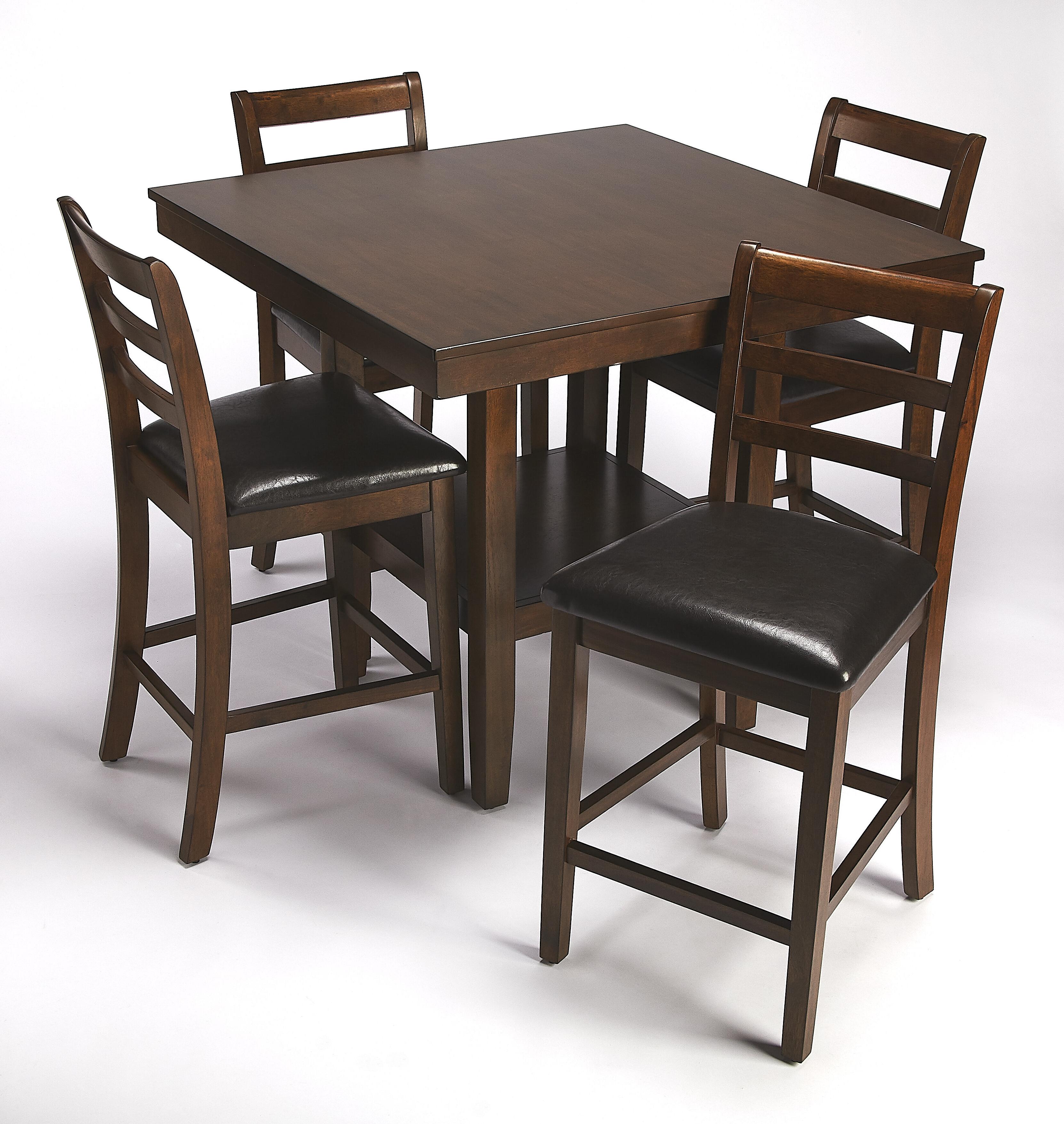 Sigler 5 Piece Dining Set Regarding Most Recent Emmeline 5 Piece Breakfast Nook Dining Sets (View 16 of 20)