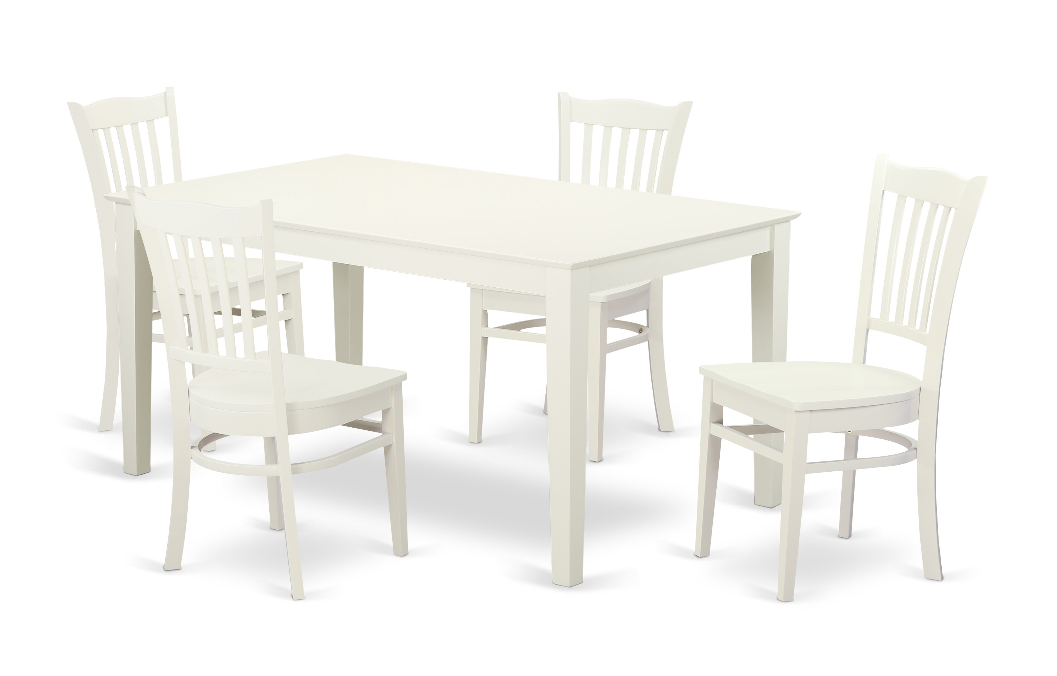 Smyrna 5 Piece Solid Wood Dining Set With 2018 Smyrna 3 Piece Dining Sets (View 18 of 20)