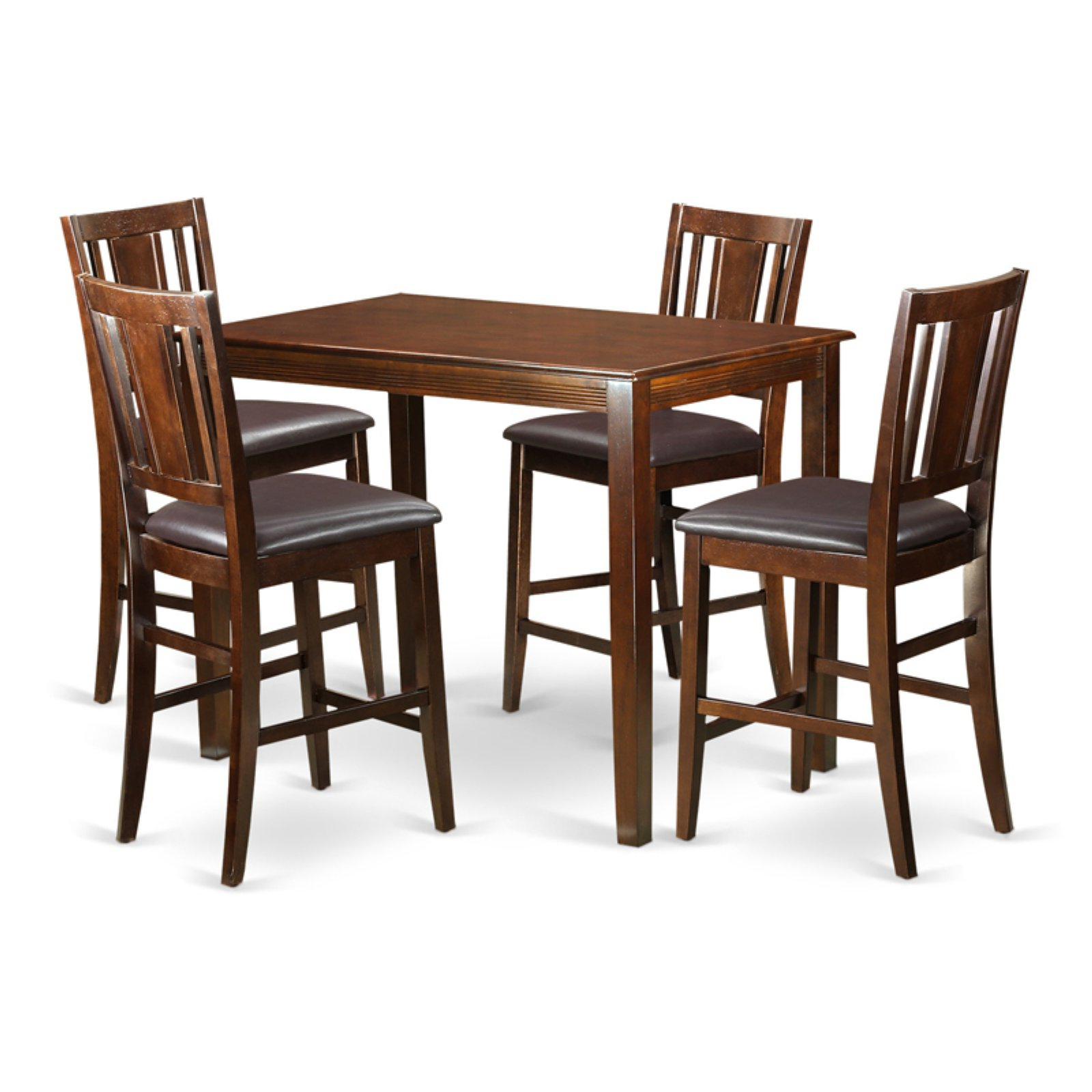 Sundberg 5 Piece Solid Wood Dining Sets Inside Most Current East West Furniture Yarmouth 5 Piece Scotch Art Dining Table Set (View 11 of 20)