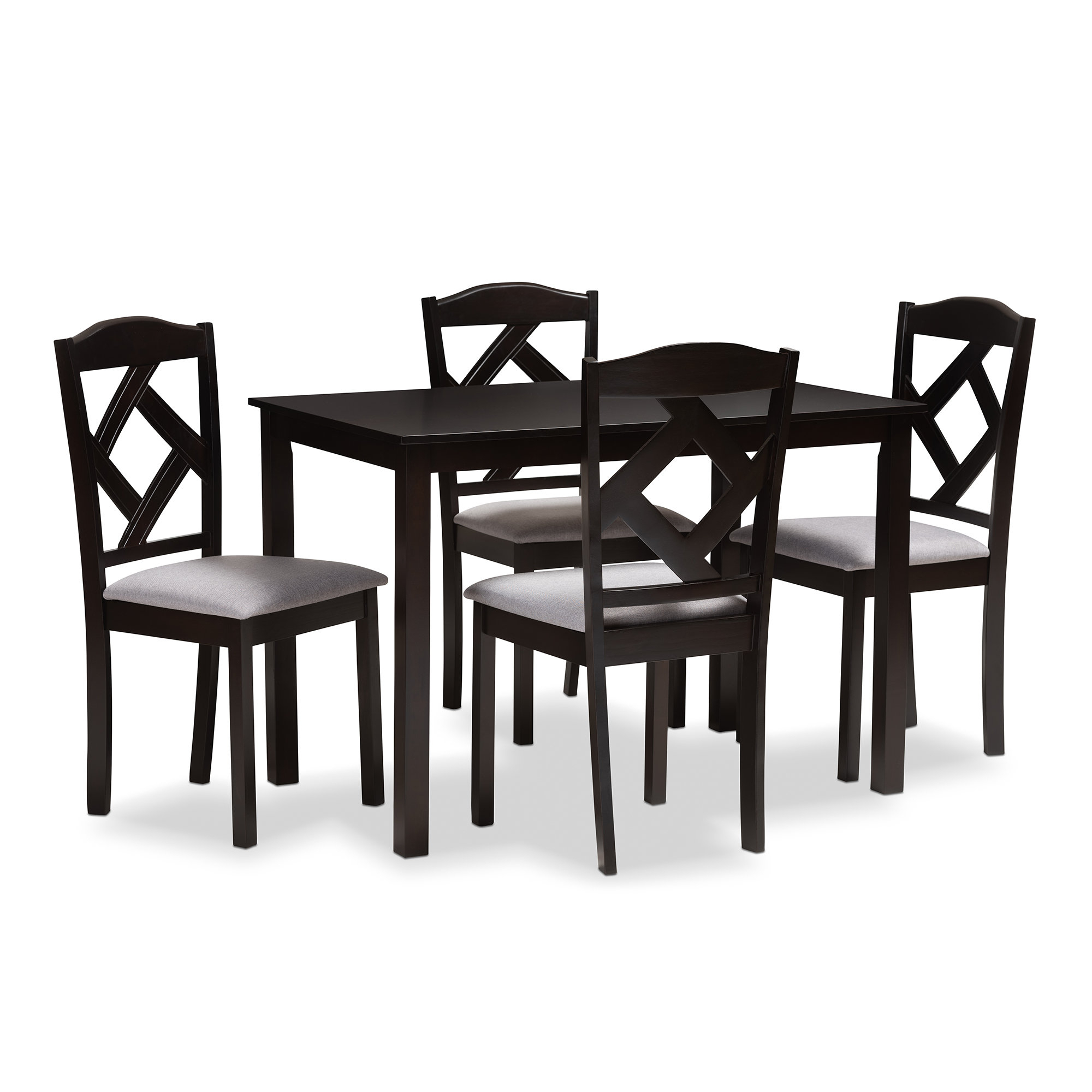 Sundberg 5 Piece Solid Wood Dining Sets Intended For Most Up To Date Yarmouth 5 Piece Dining Set (View 12 of 20)