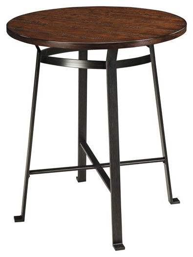 Tappahannock 3 Piece Counter Height Dining Sets Regarding Best And Newest Challiman – Round Drm Counter Table (View 18 of 20)