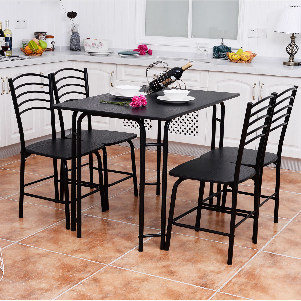 Tavarez 5 Piece Dining Sets For Current Details About Winston Porter Ephraim 5 Piece Dining Set (View 11 of 20)