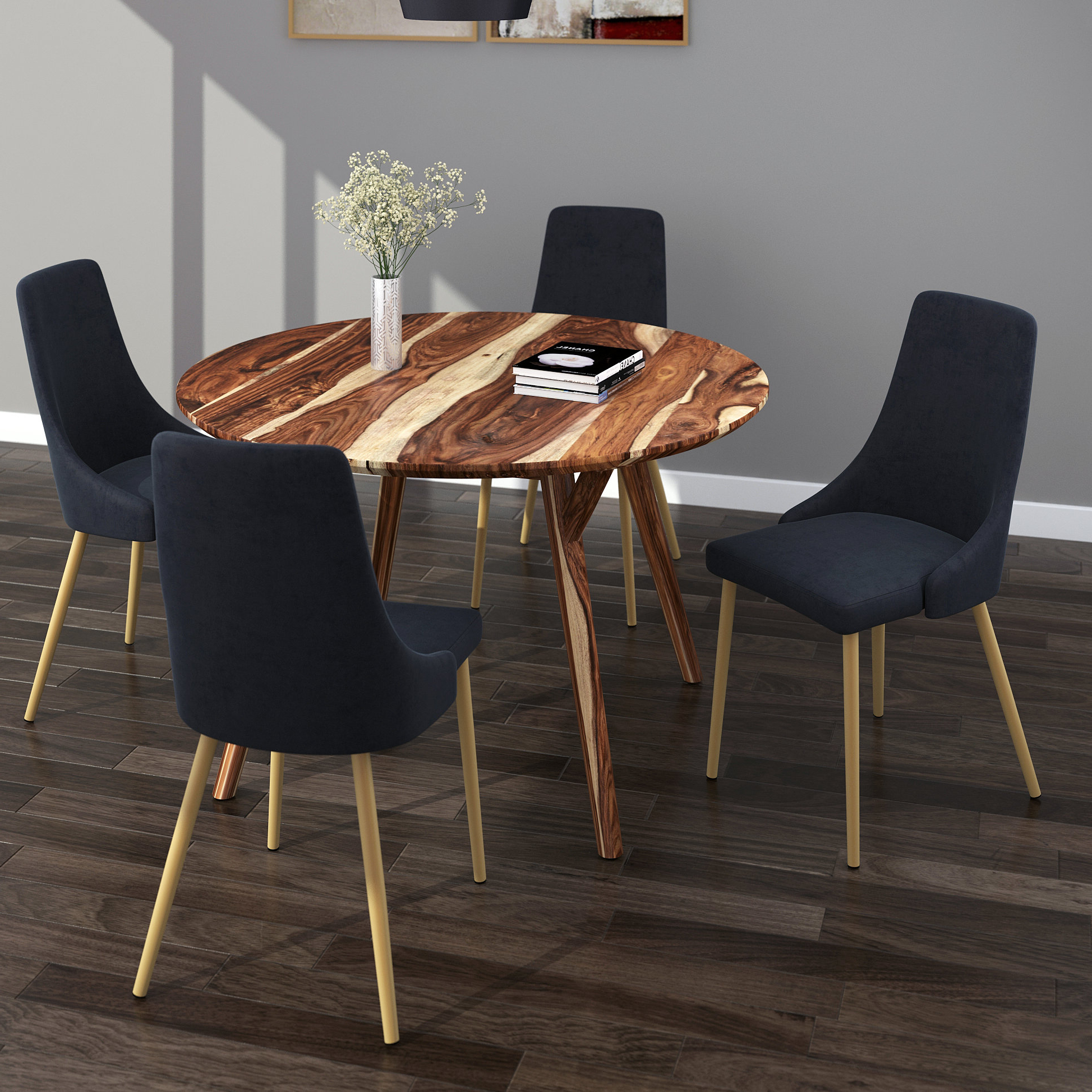 Travon 5 Piece Dining Sets For Newest Bixby 5 Piece Dining Set (Gallery 8 of 20)