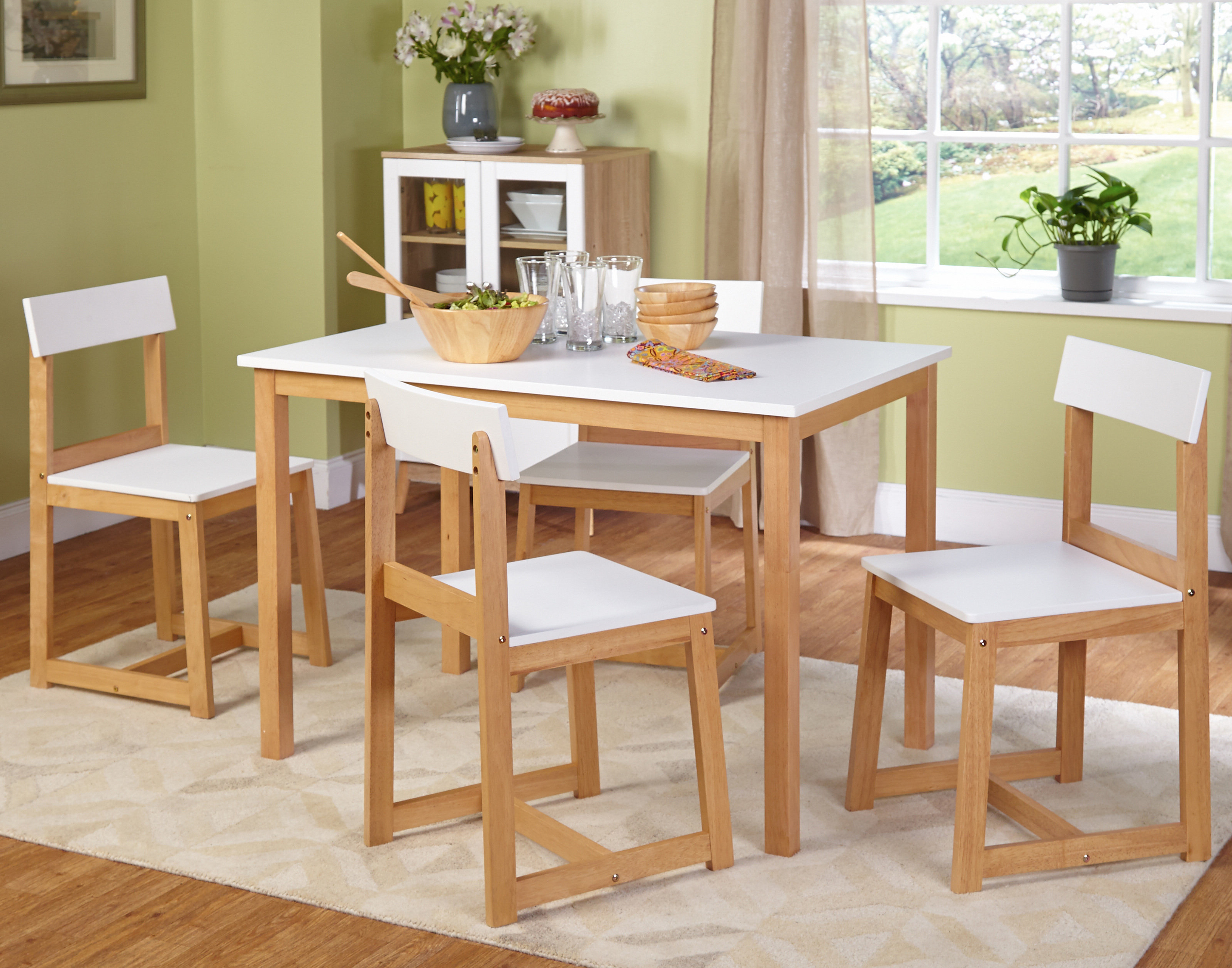 Trendy Aria 5 Piece Dining Sets With Aria 5 Piece Dining Set (View 5 of 20)