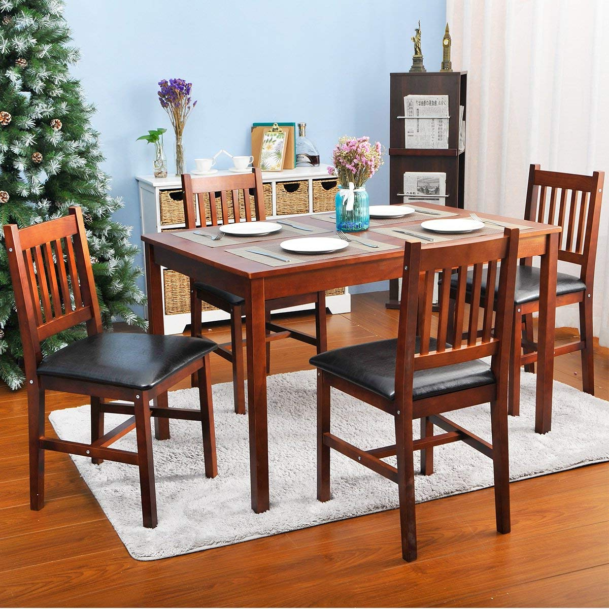 Trendy Dining Table Chair Set & Simple Living Olin Dining Sets Sc 1 St For Kieffer 5 Piece Dining Sets (Gallery 20 of 20)