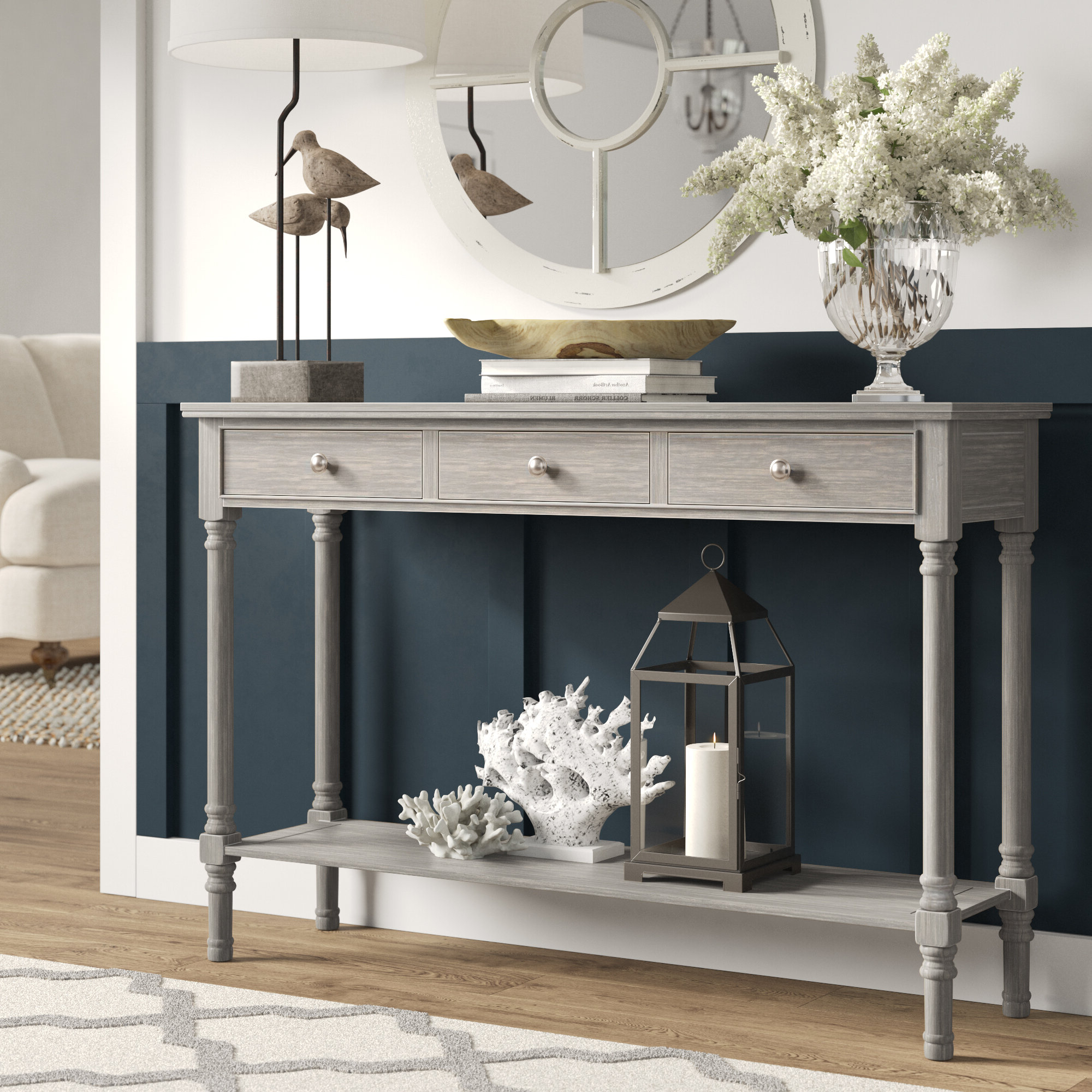Trendy Morehead Console Table Regarding Moorehead 3 Piece Counter Height Dining Sets (View 18 of 20)