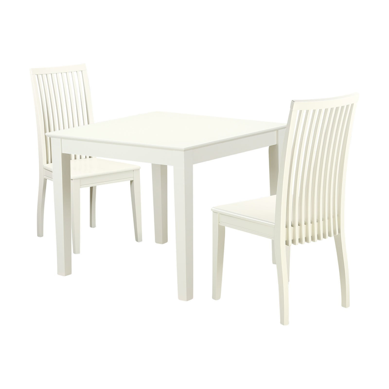 Trendy Smyrna 3 Piece Dining Sets For East West Furniture Oxford 3 Piece Dining Table Set With 2 Wood Seat (Gallery 4 of 20)