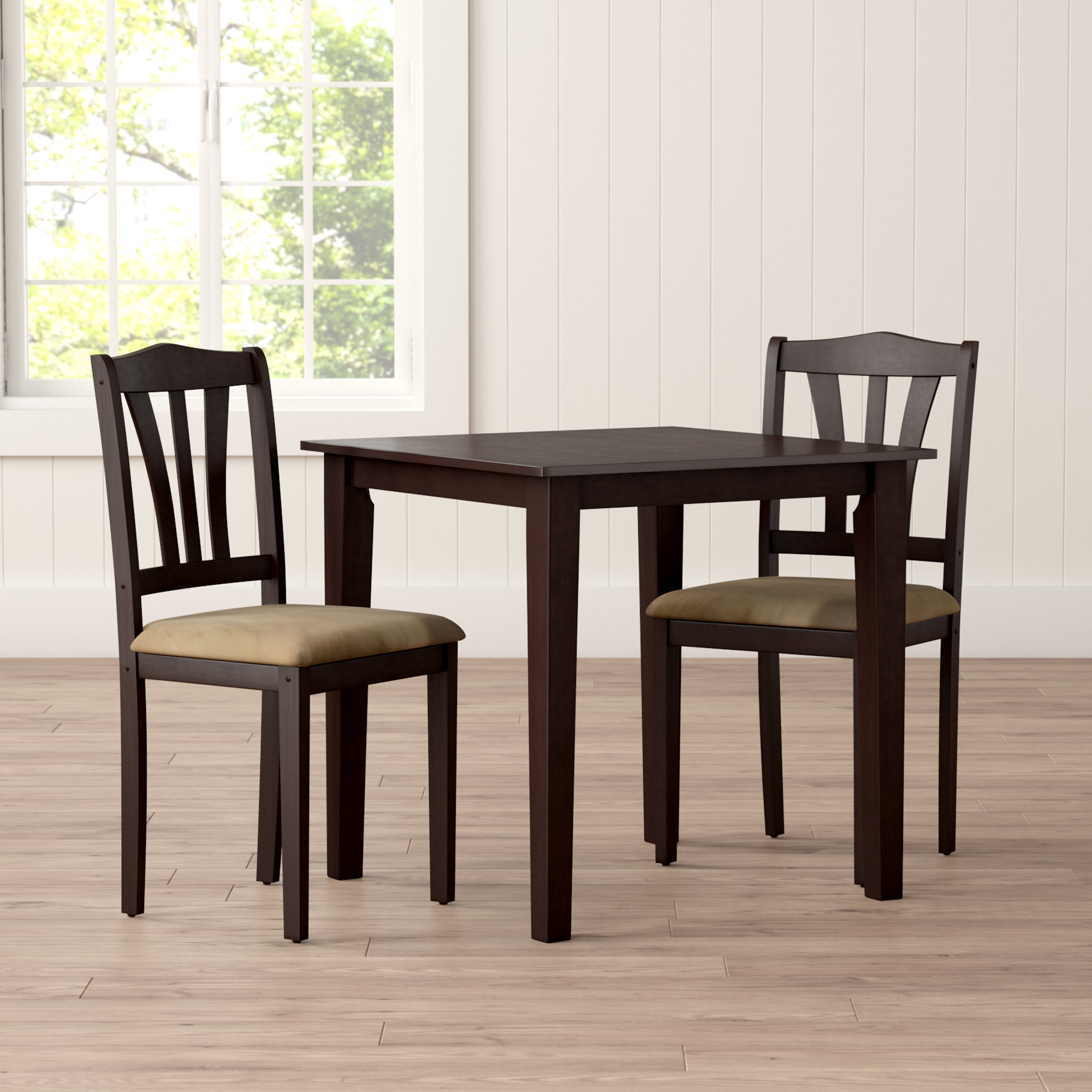 Wayfair Throughout Ligon 3 Piece Breakfast Nook Dining Sets (View 9 of 20)