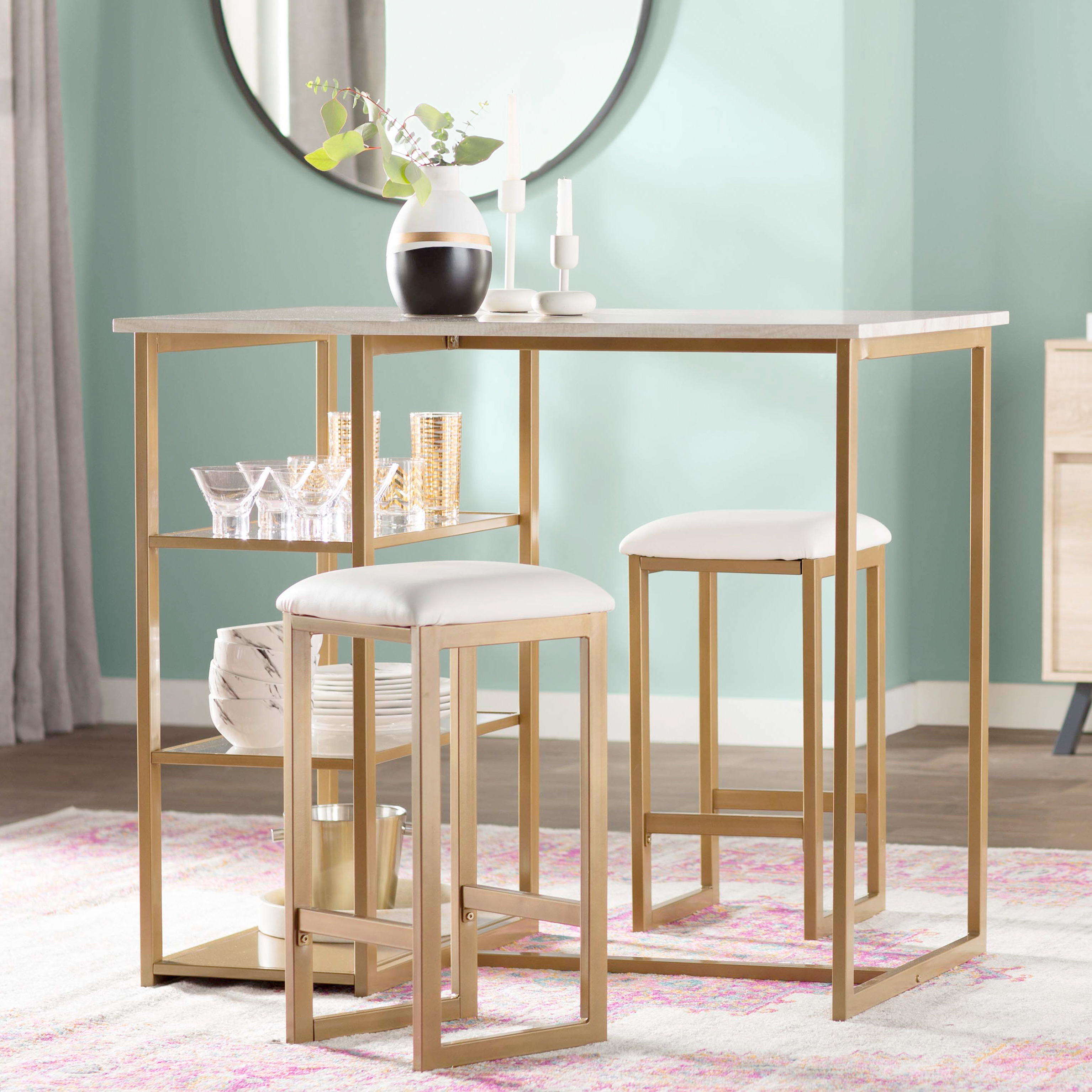 Wayfair With Favorite West Hill Family Table 3 Piece Dining Sets (View 12 of 20)