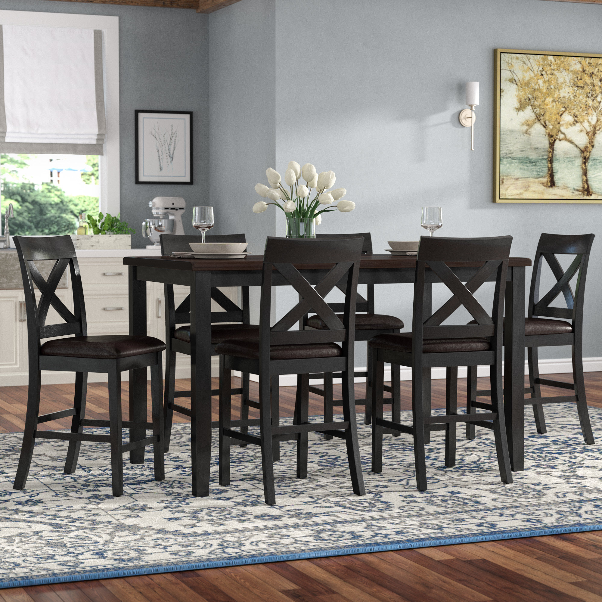 Wayfair With Regard To Well Known Springfield 3 Piece Dining Sets (View 9 of 20)