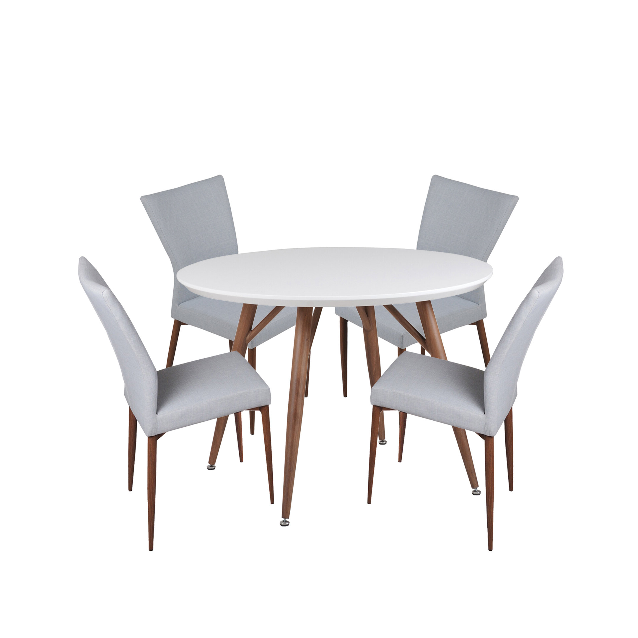 Well Known 5 Piece Breakfast Nook Dining Sets Regarding Brandyn 5 Piece Breakfast Nook Dining Set (View 9 of 20)