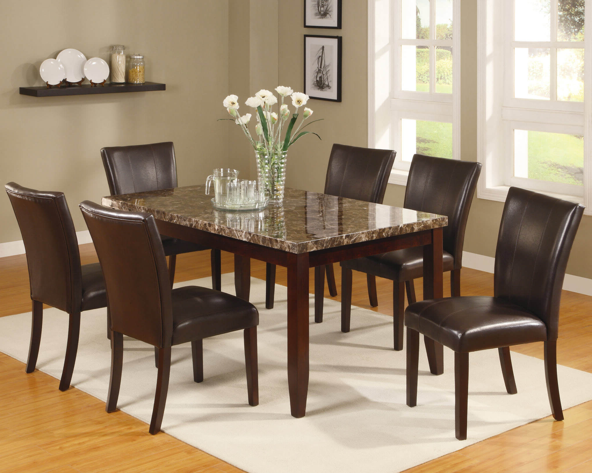 Well Known Cargo 5 Piece Dining Sets With Regard To 2221 Ferrara 5 Piece Esspresso Dining Setcrown Mark (View 19 of 20)