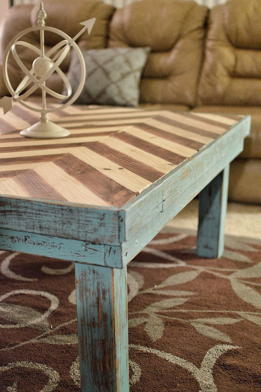 Well Known Chevron Table Top (View 20 of 20)