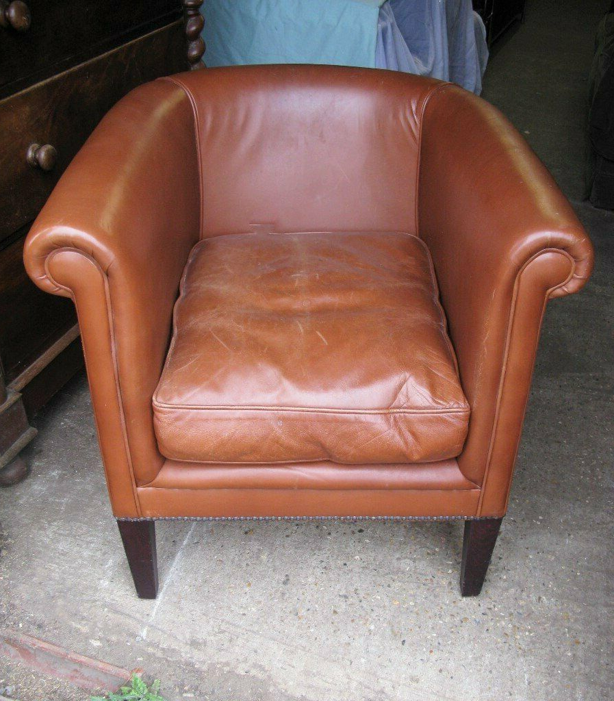 Well Known Northwoods 3 Piece Dining Sets For Laura Ashley 'osbourne' Leather Armchair Tub / Club Chair Ha6 Northwood (View 17 of 20)