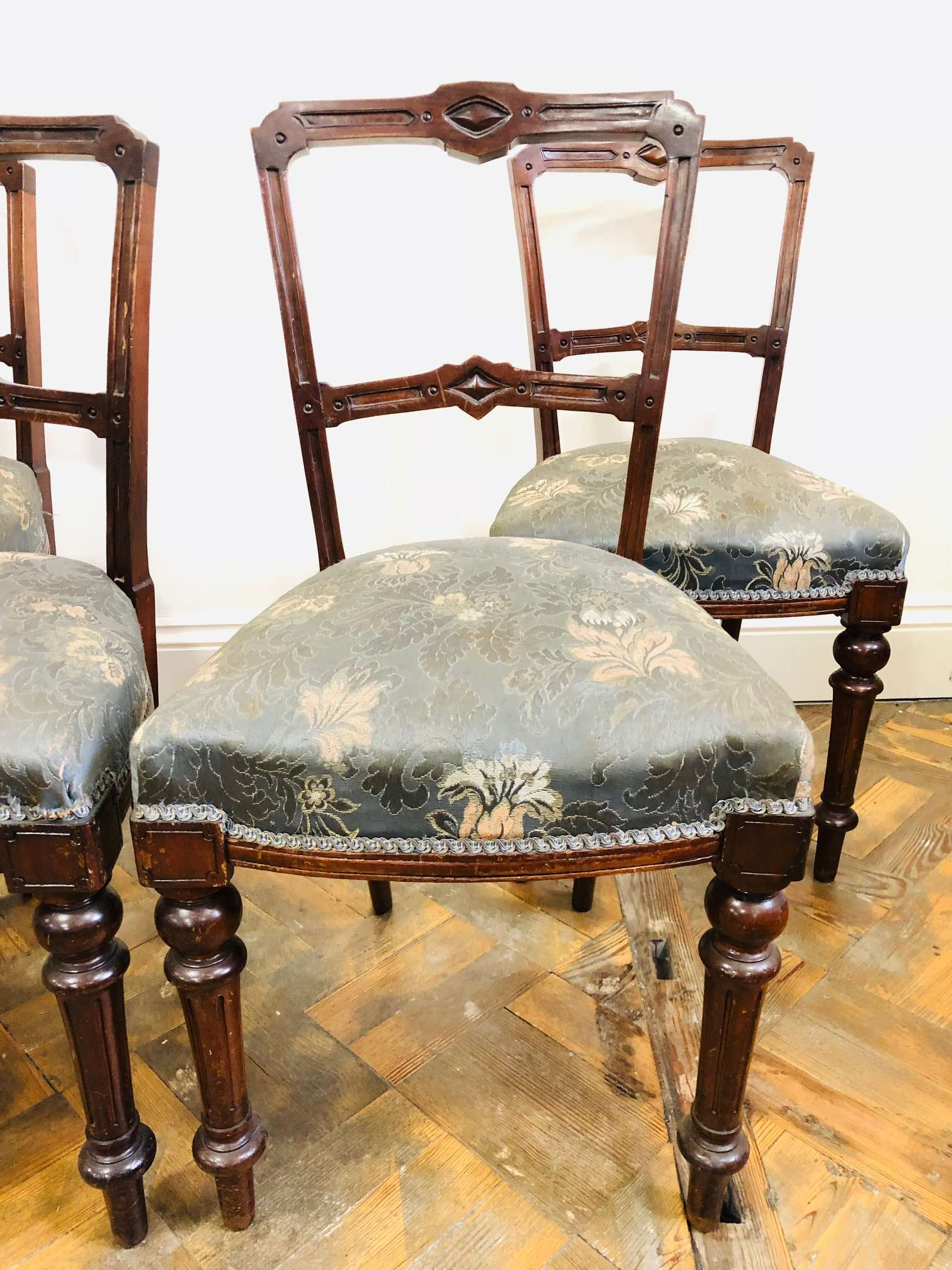 Well Known Walnut Dining Chairs 2 Of 3 – The Penderyn Furniture Co (View 19 of 20)