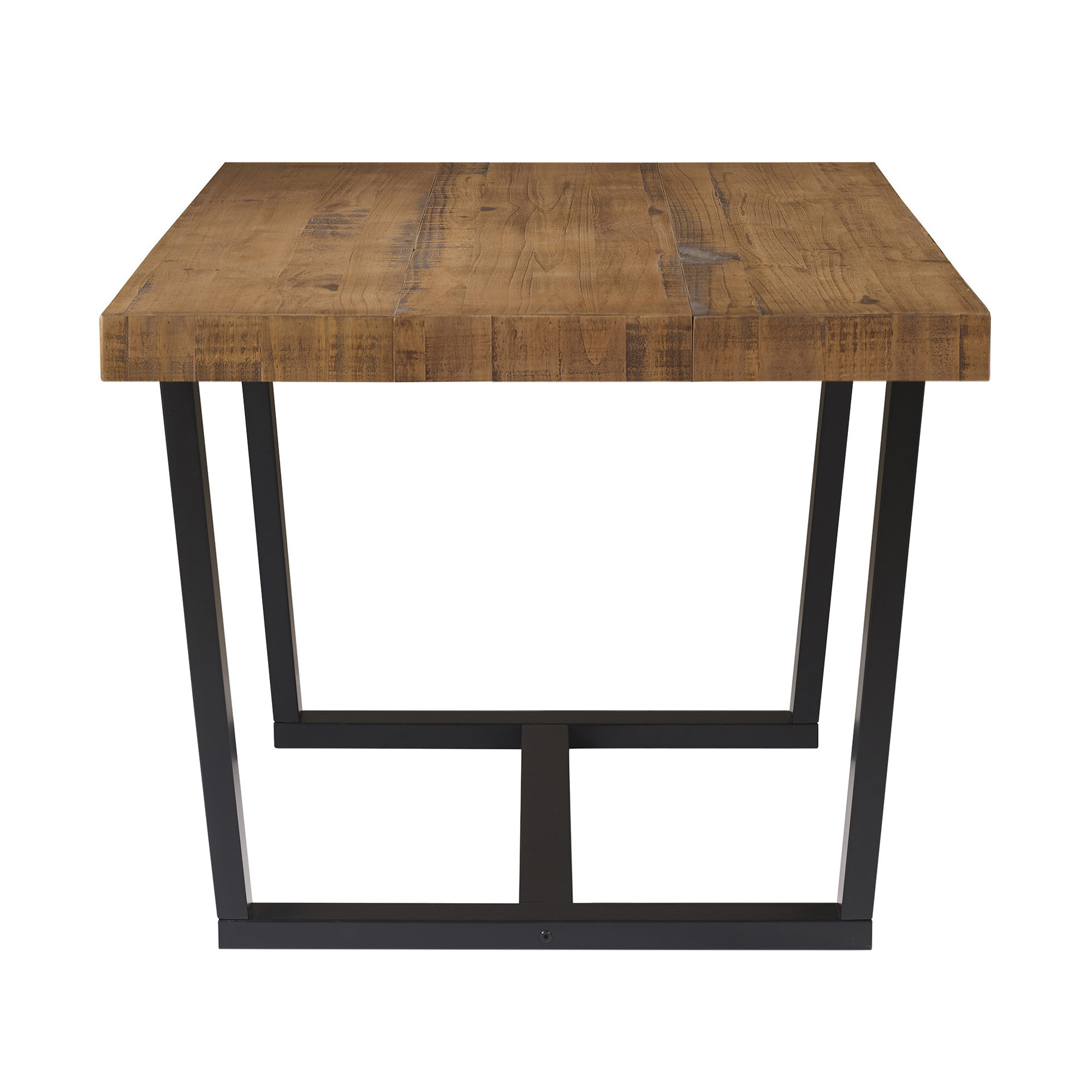 Well Known Weatherholt Dining Tables Intended For Marine Distressed Solid Wood Dining Table (View 18 of 20)