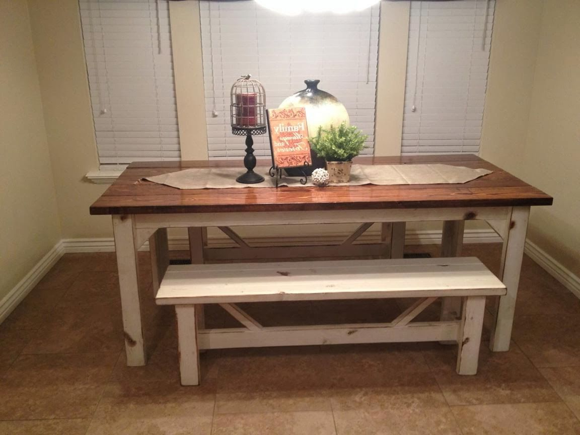 Well Liked Fabulous Kitchen Table With Bench Decor Ideas (View 11 of 20)