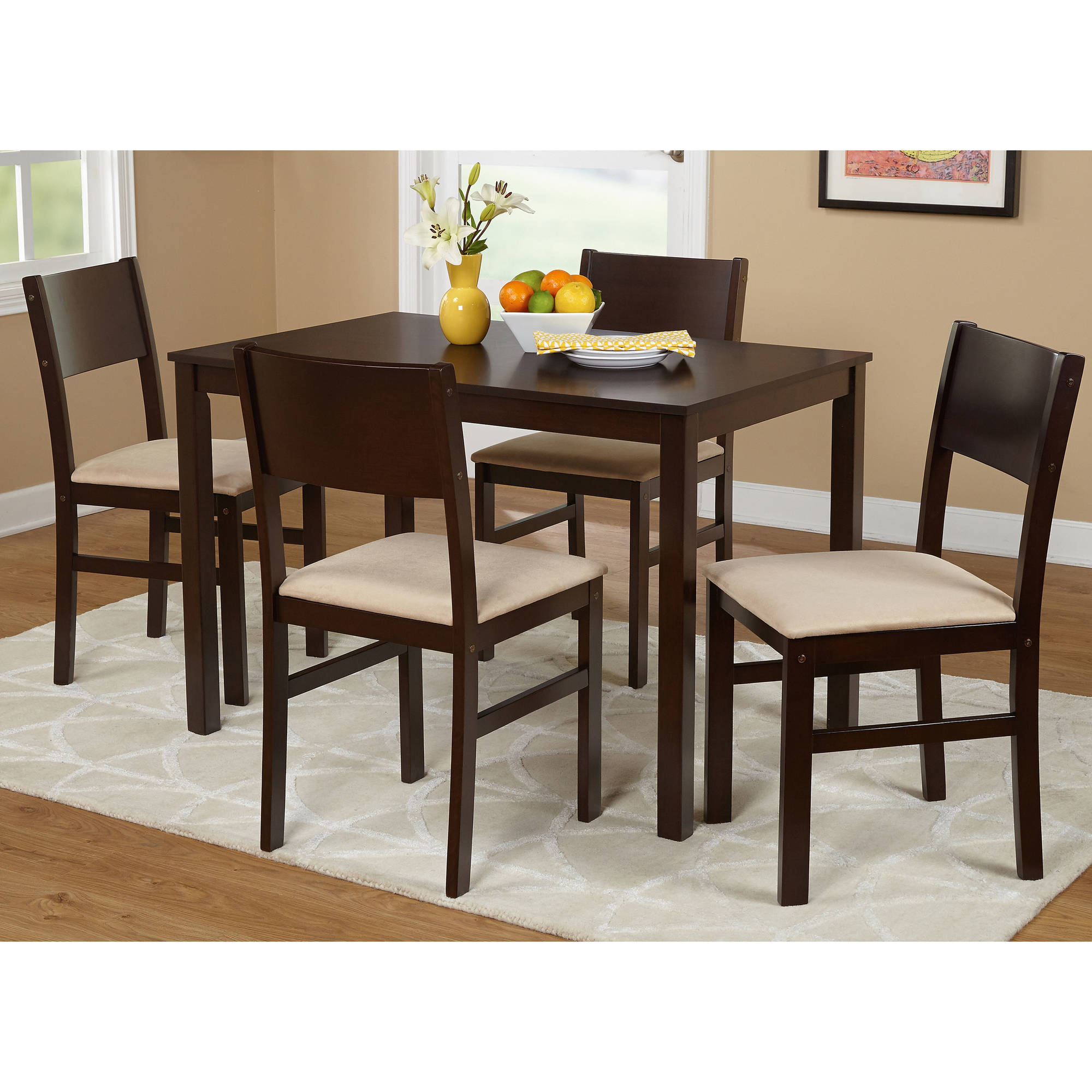 Well Liked Tms Lucca 5 Piece Dining Set, Multiple Colors For 5 Piece Dining Sets (View 4 of 20)