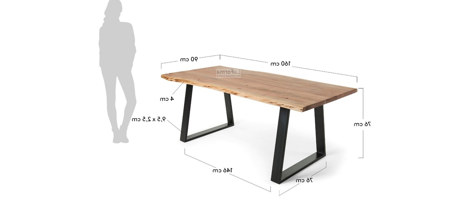 Well Liked Wiggs 5 Piece Dining Sets Intended For Sona Dining Table 160 220cm (View 15 of 20)