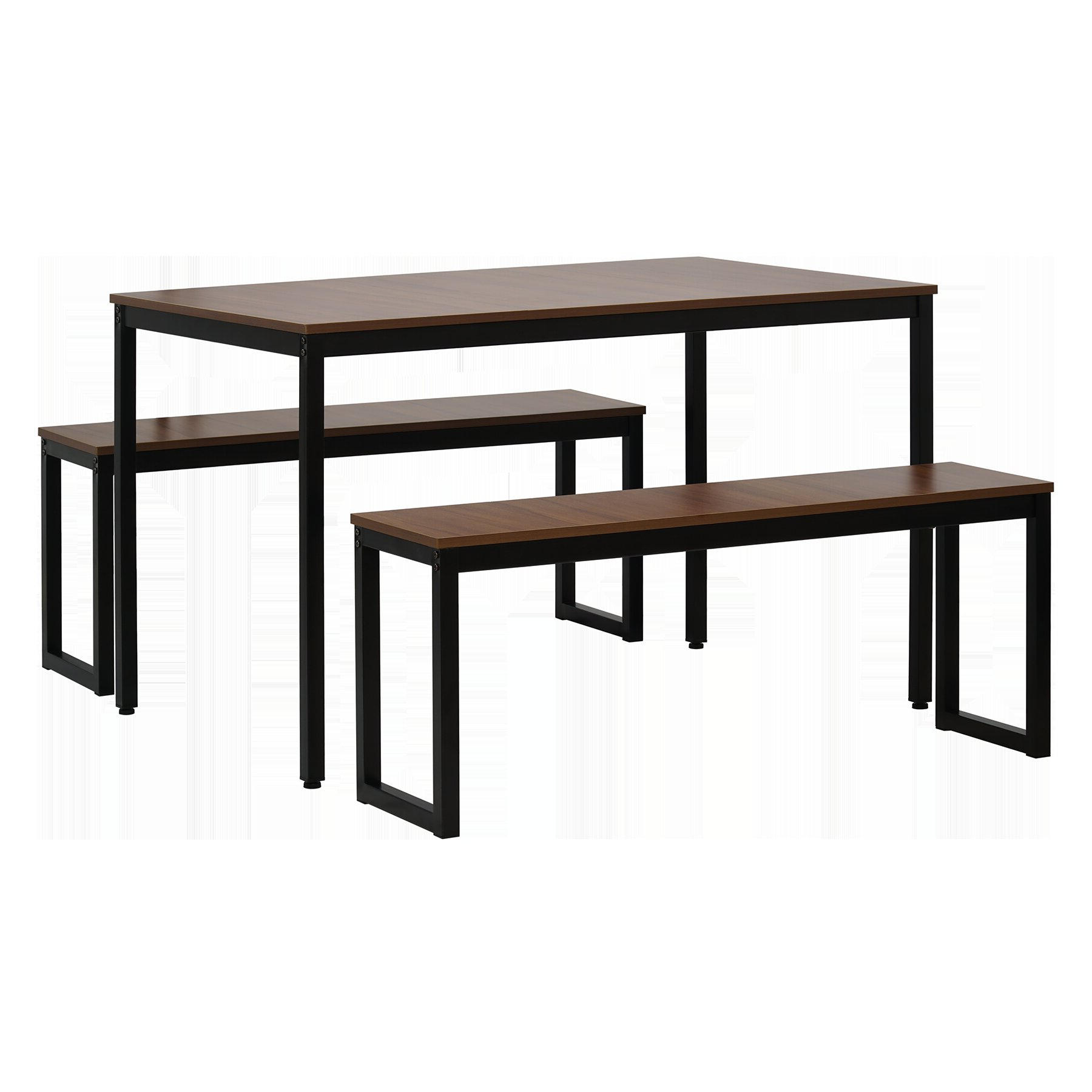 West Hill Family Table 3 Piece Dining Set With Fashionable Saintcroix 3 Piece Dining Sets (View 7 of 20)