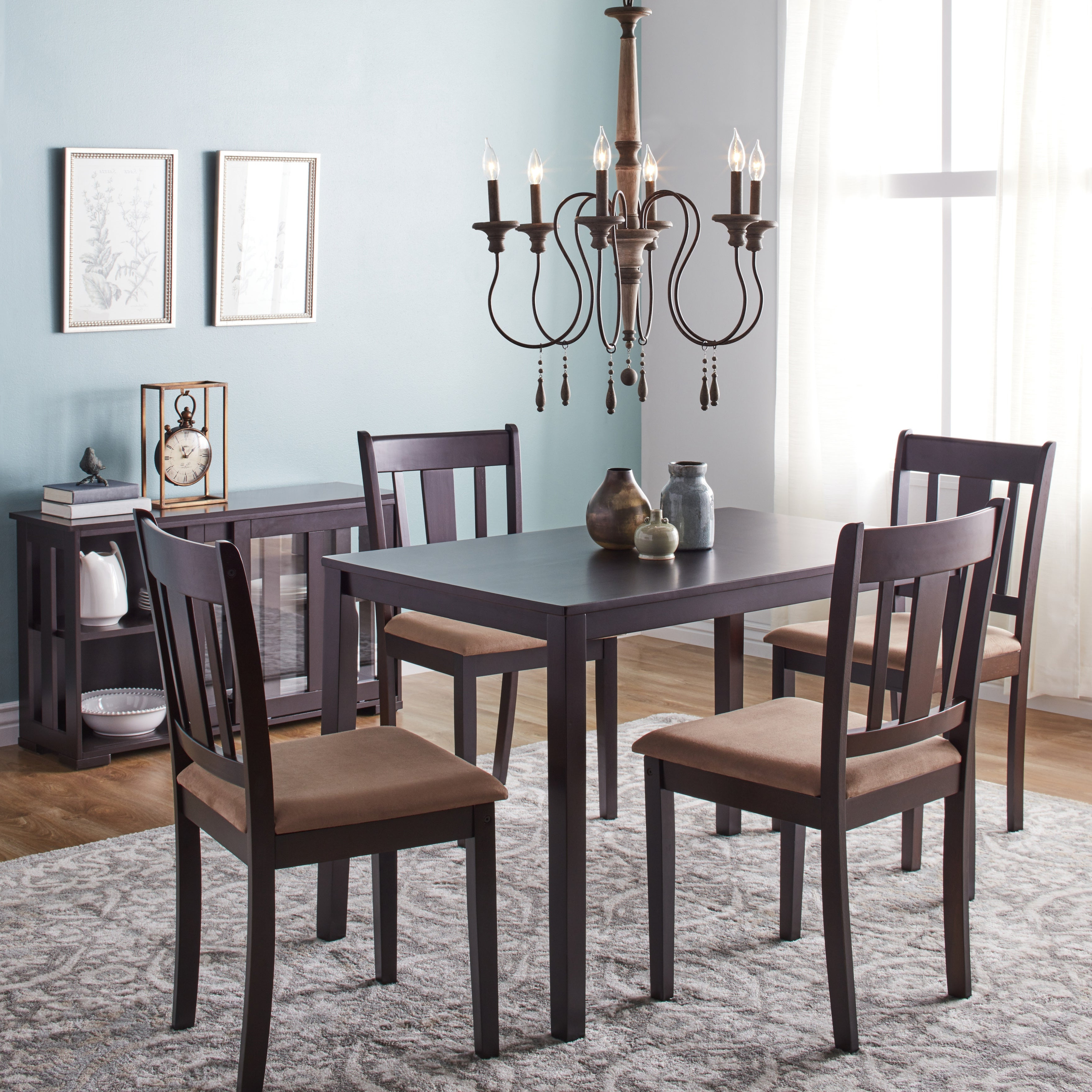 West Hill Family Table 3 Piece Dining Sets For Popular Buy 5 Piece Sets Kitchen & Dining Room Sets Online At Overstock (View 8 of 20)