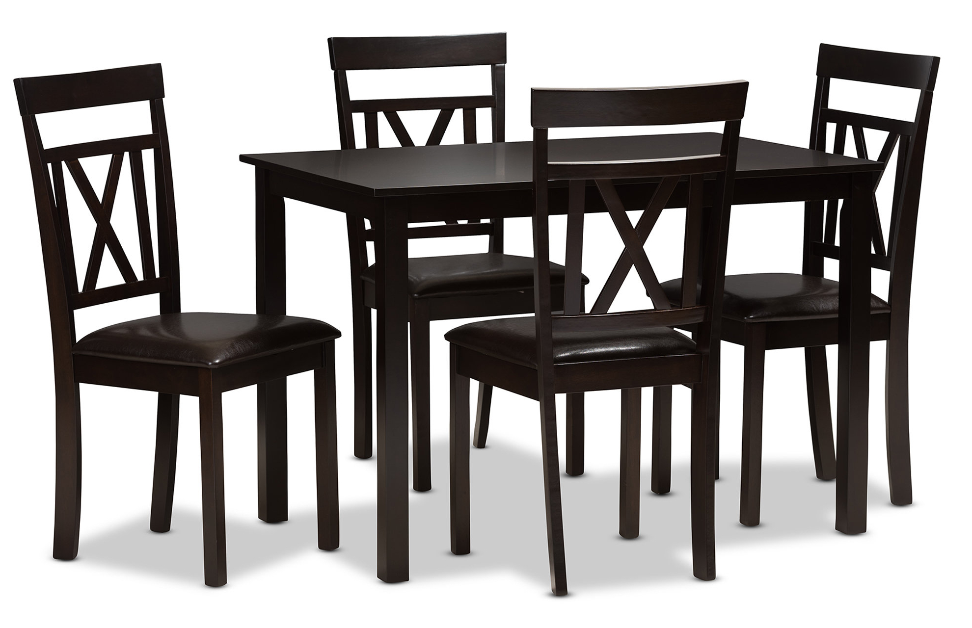 Whitbey Modern And Contemporary 5 Piece Breakfast Nook Dining Set Pertaining To Most Recently Released 5 Piece Breakfast Nook Dining Sets (View 3 of 20)