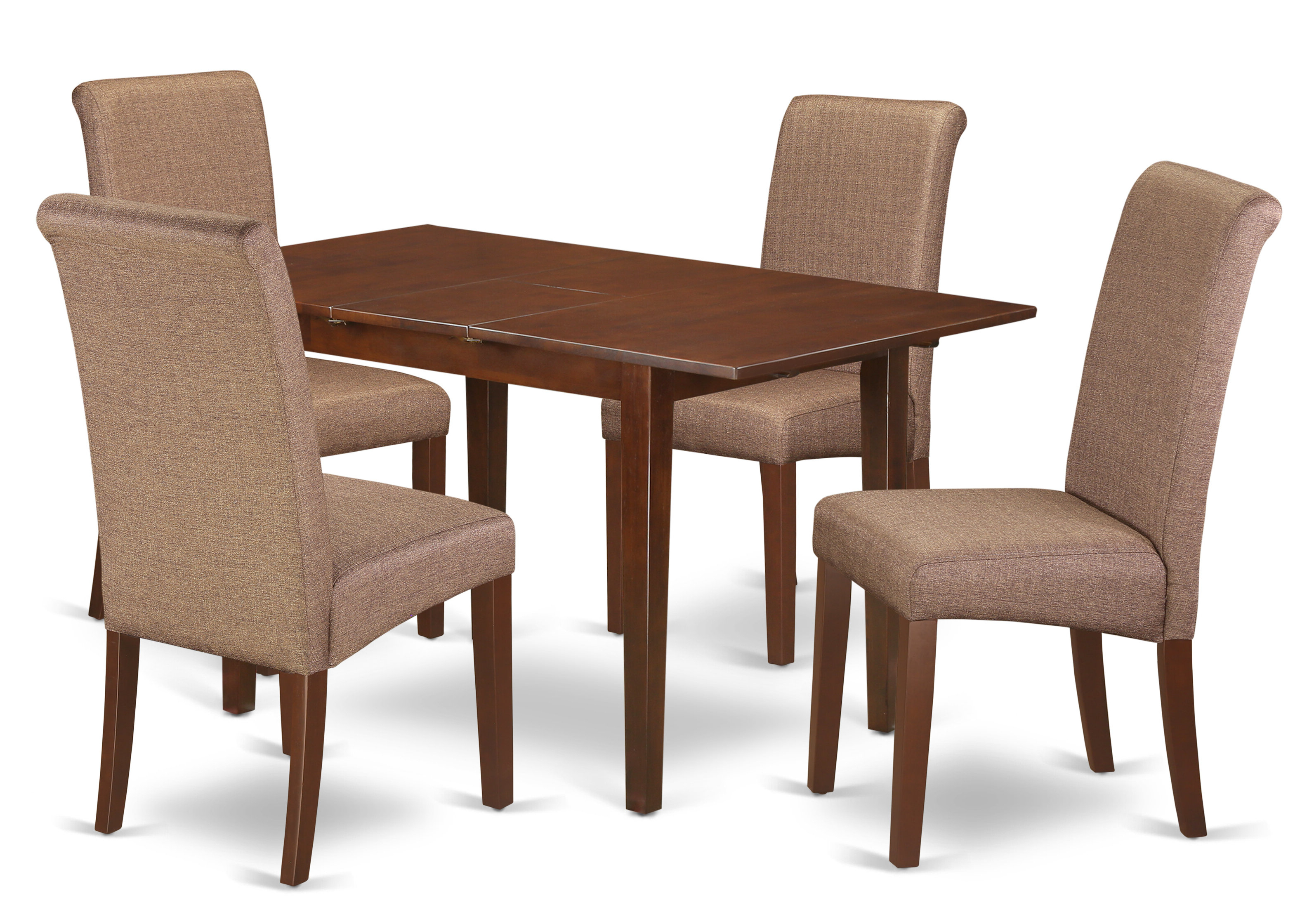 Widely Used Emmeline 5 Piece Breakfast Nook Dining Sets In Winston Porter Sarai Kitchen Table 5 Piece Extendable Solid Wood Breakfast Nook Dining Set (View 12 of 20)