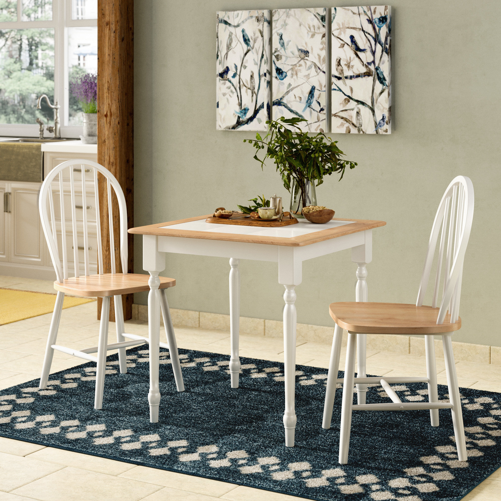 Widely Used Kinsler 3 Piece Bistro Sets Within Llanas 3 Piece Dining Set (View 20 of 20)