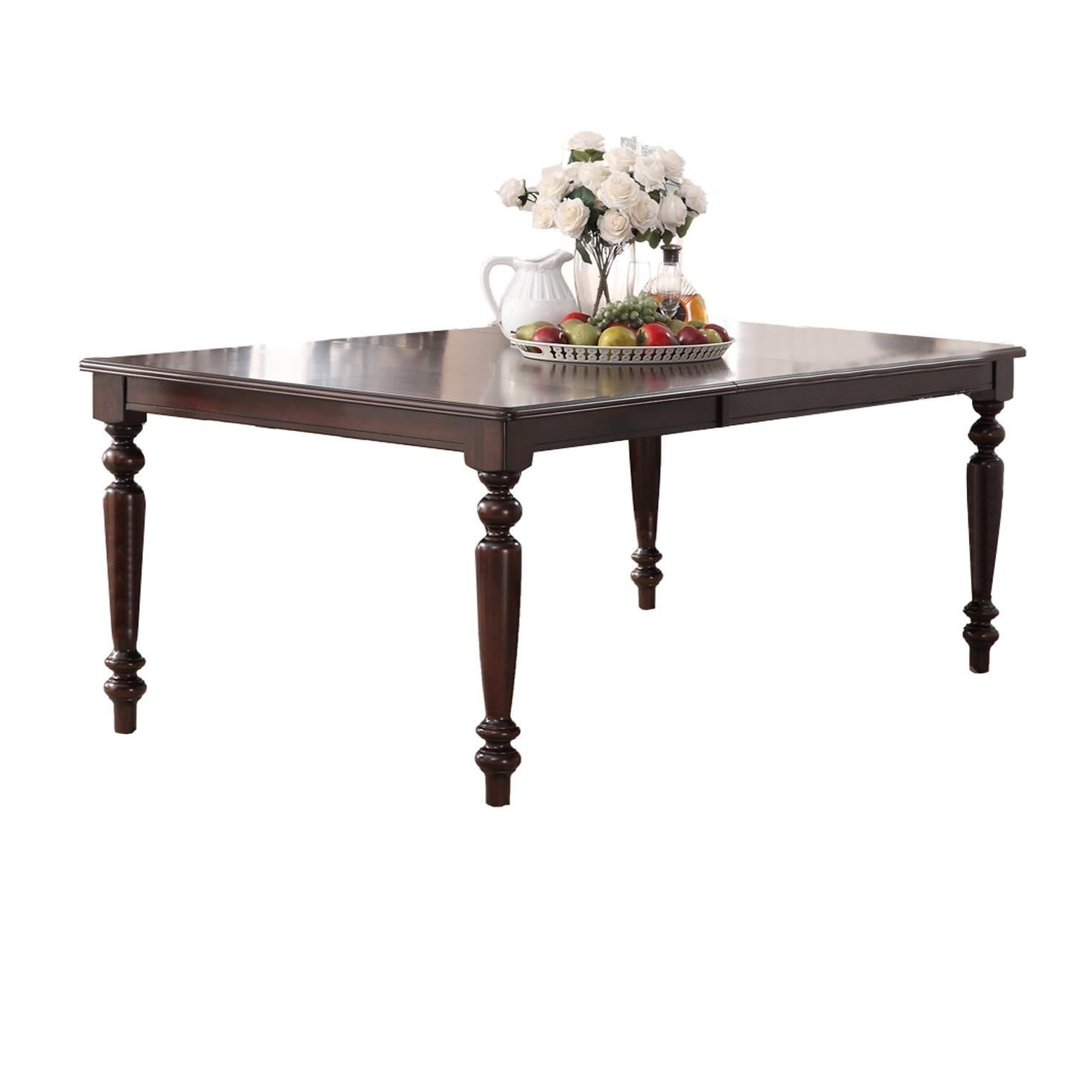 Widely Used Laconia 7 Pieces Solid Wood Dining Sets (set Of 7) Pertaining To Home Source Laconia Walnut 5 Piece Dining Set (View 15 of 20)