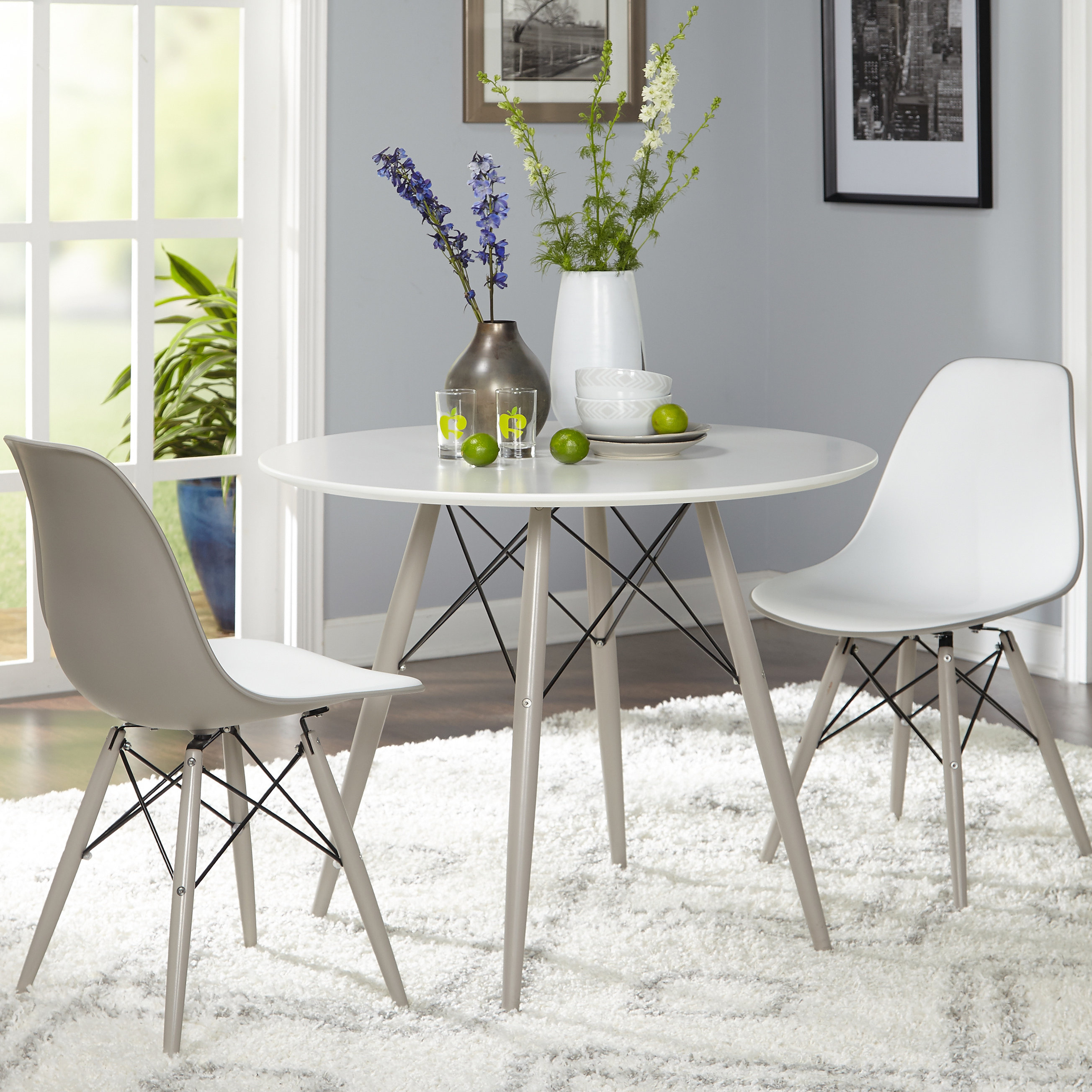 Widely Used Langley Street Richardson 3 Piece Dining Set With Travon 5 Piece Dining Sets (View 19 of 20)
