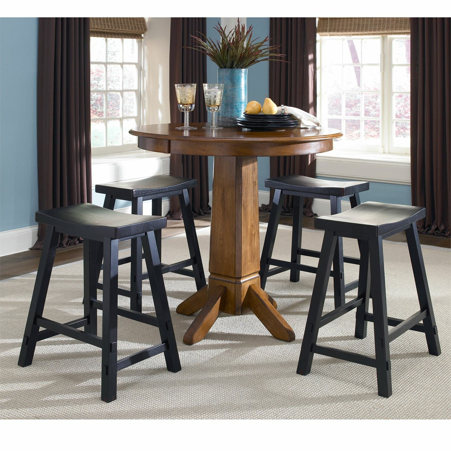 Widely Used Marni 6 Piece Pub Table Set Inside Berrios 3 Piece Counter Height Dining Sets (View 19 of 20)