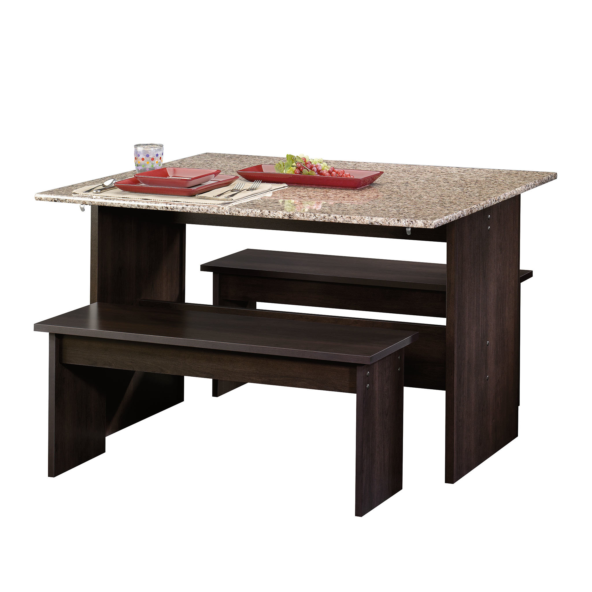 Widely Used Ryker 3 Piece Dining Set Intended For Ryker 3 Piece Dining Sets (View 2 of 20)