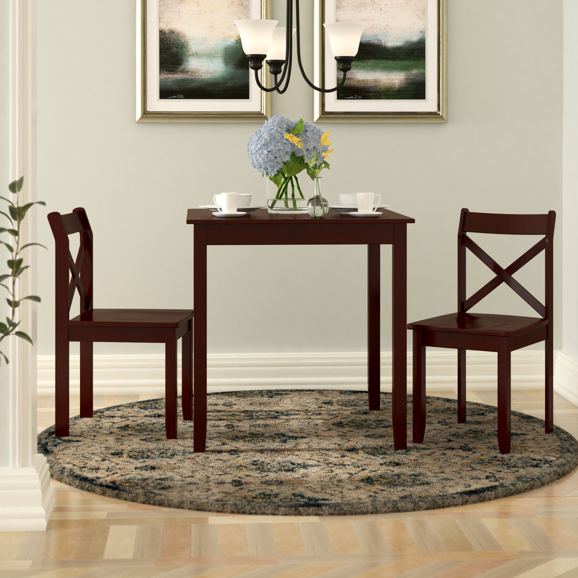 Widely Used Shepparton Vintage 3 Piece Dining Sets Regarding 3 Piece Kitchen & Dining Room Sets You'll Love In (View 8 of 20)