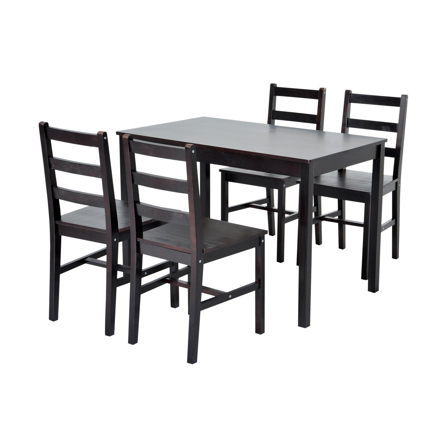 Widely Used Winston Porter Yedinak 5 Piece Solid Wood Dining Set Regarding Yedinak 5 Piece Solid Wood Dining Sets (View 16 of 20)