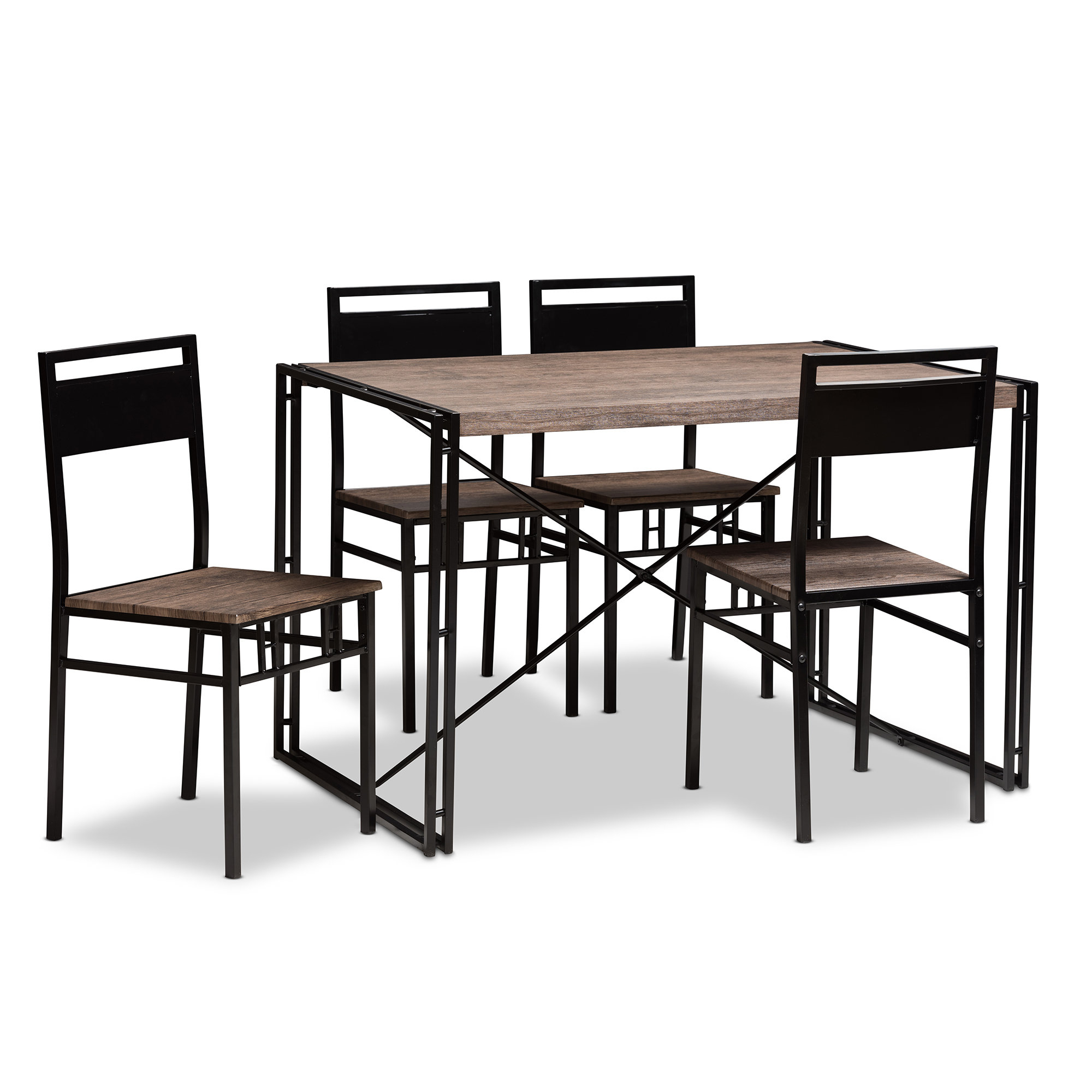 Wiggs 5 Piece Dining Sets Regarding Current Mizell 5 Piece Dining Set (View 3 of 20)