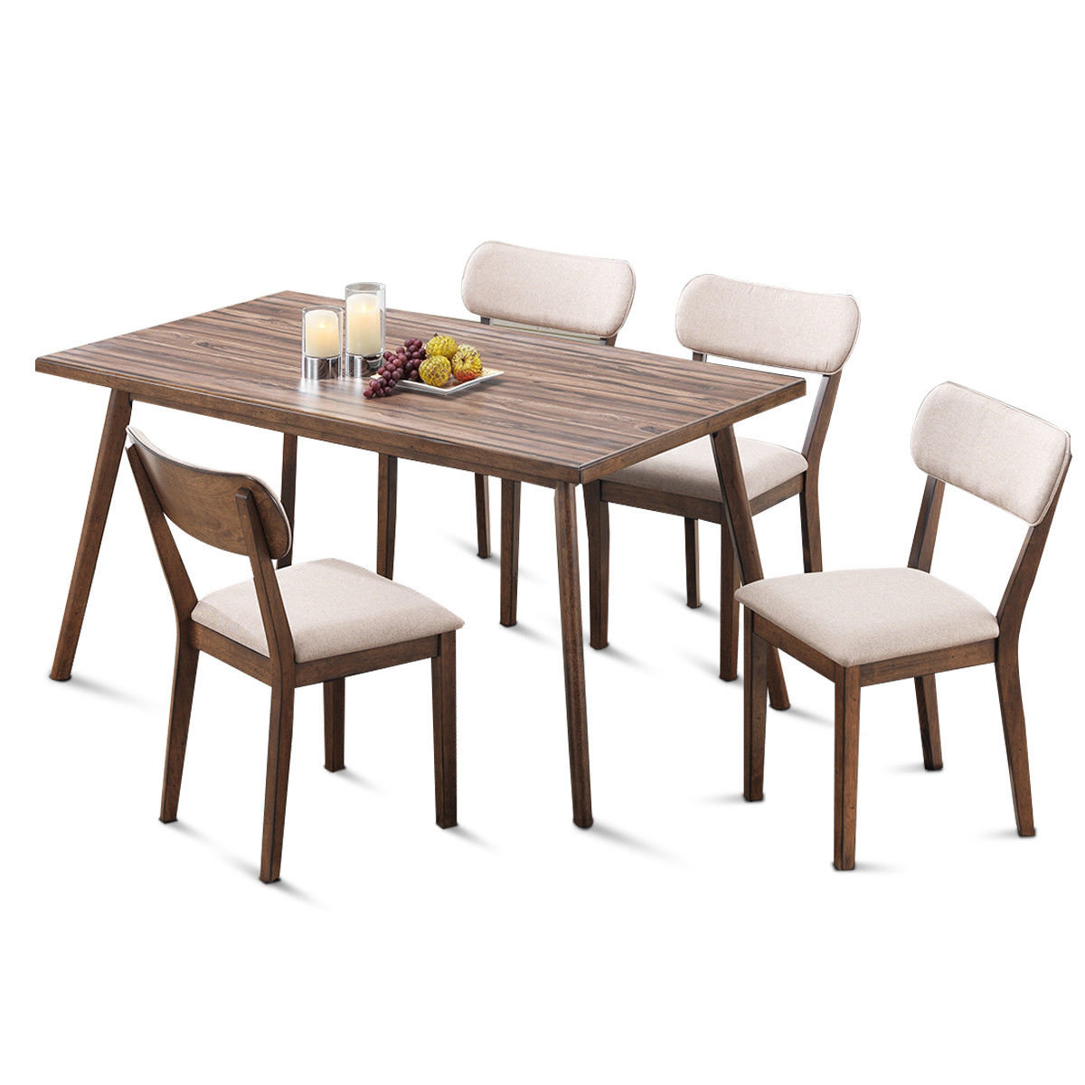 Wiggs 5 Piece Dining Sets Within Well Liked Eatmon 5 Piece Dining Set (View 10 of 20)
