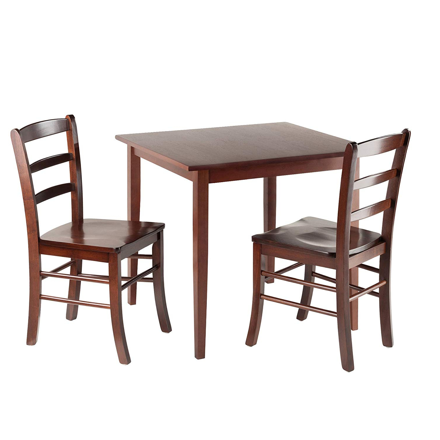Winsome 3 Piece Counter Height Dining Sets Within 2018 Winsome Groveland Square Dining Table With 2 Chairs, 3 Piece (View 13 of 20)
