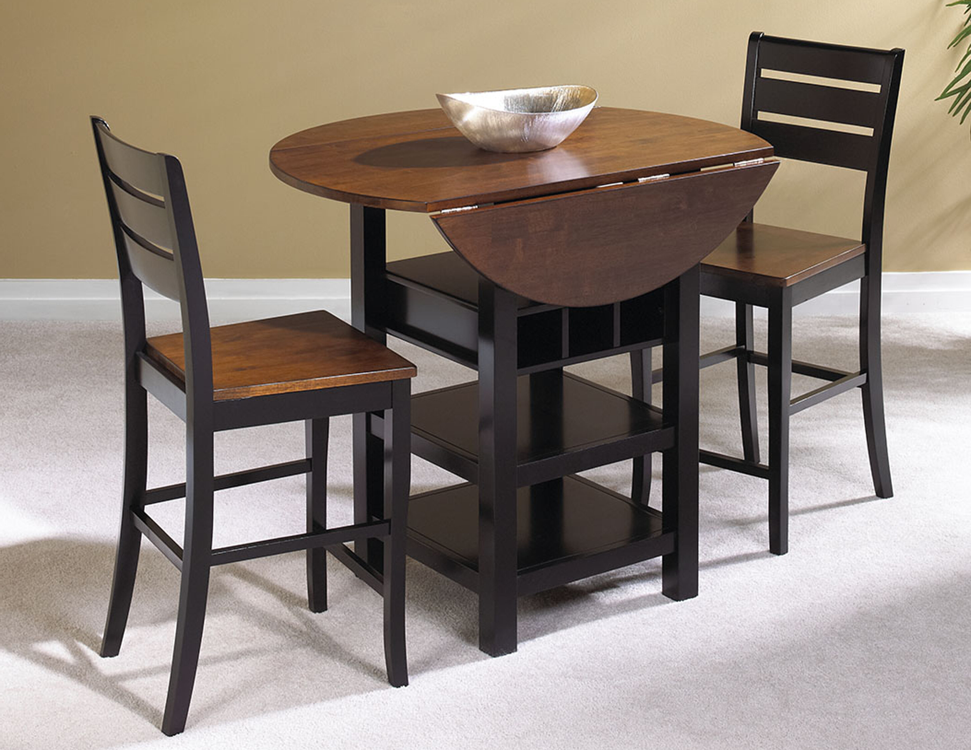 Winsted 4 Piece Counter Height Dining Sets Intended For Most Current Atwater 3 Piece Counter Height Dining Set (View 13 of 20)