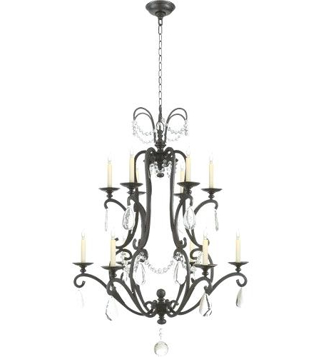 12 Light Chandelier – Marstyle (View 1 of 30)