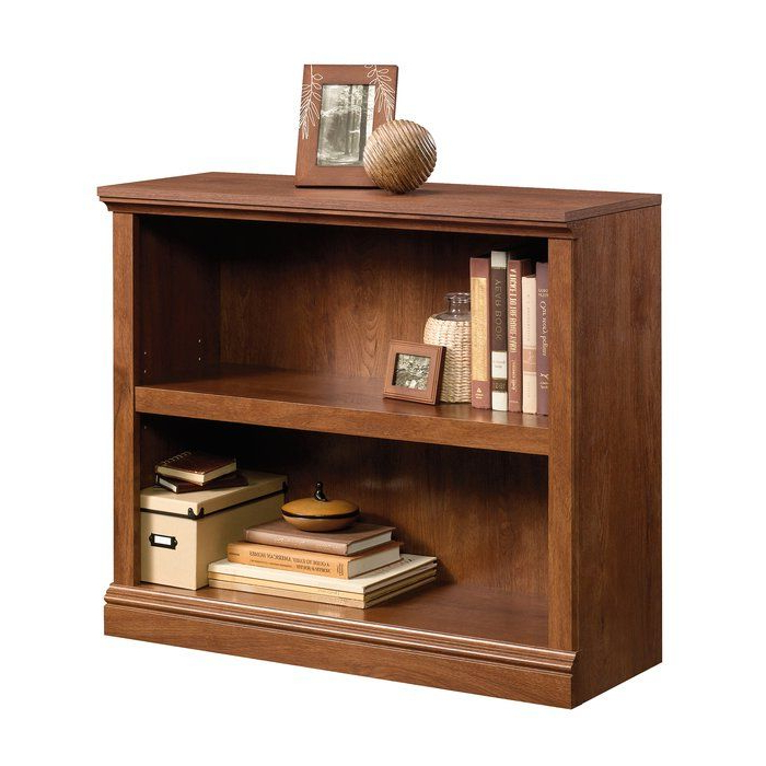 2 Shelf With Regard To Gianni Standard Bookcases (Gallery 6 of 20)