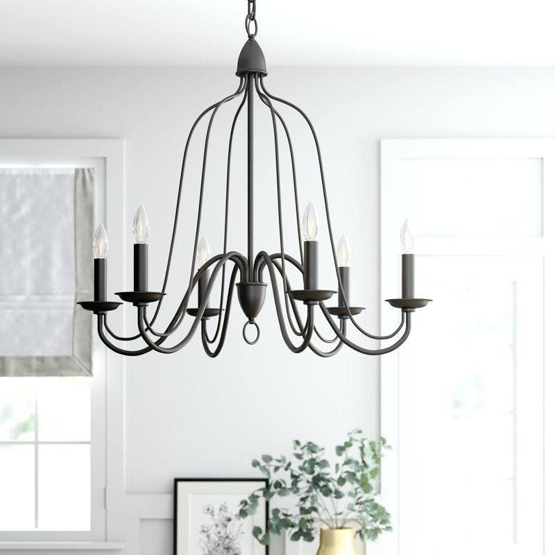 2019 6 Light Candle Style Chandelier Bennington – Pulpitis Pertaining To Bennington 6 Light Candle Style Chandeliers (View 17 of 30)