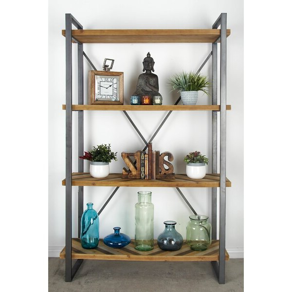 2019 Bella Industrial Etagere Bookcasefoundry Select Regarding Caitlyn Etagere Bookcases (View 1 of 20)